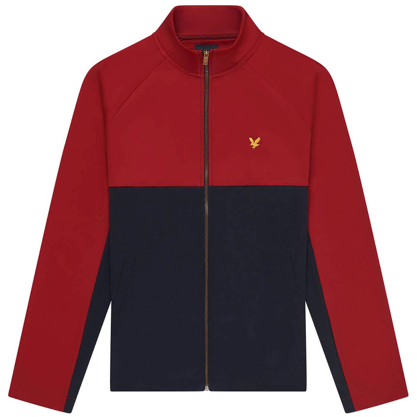LYLE & SCOTT Archive Retro Tricot Track Jacket CP