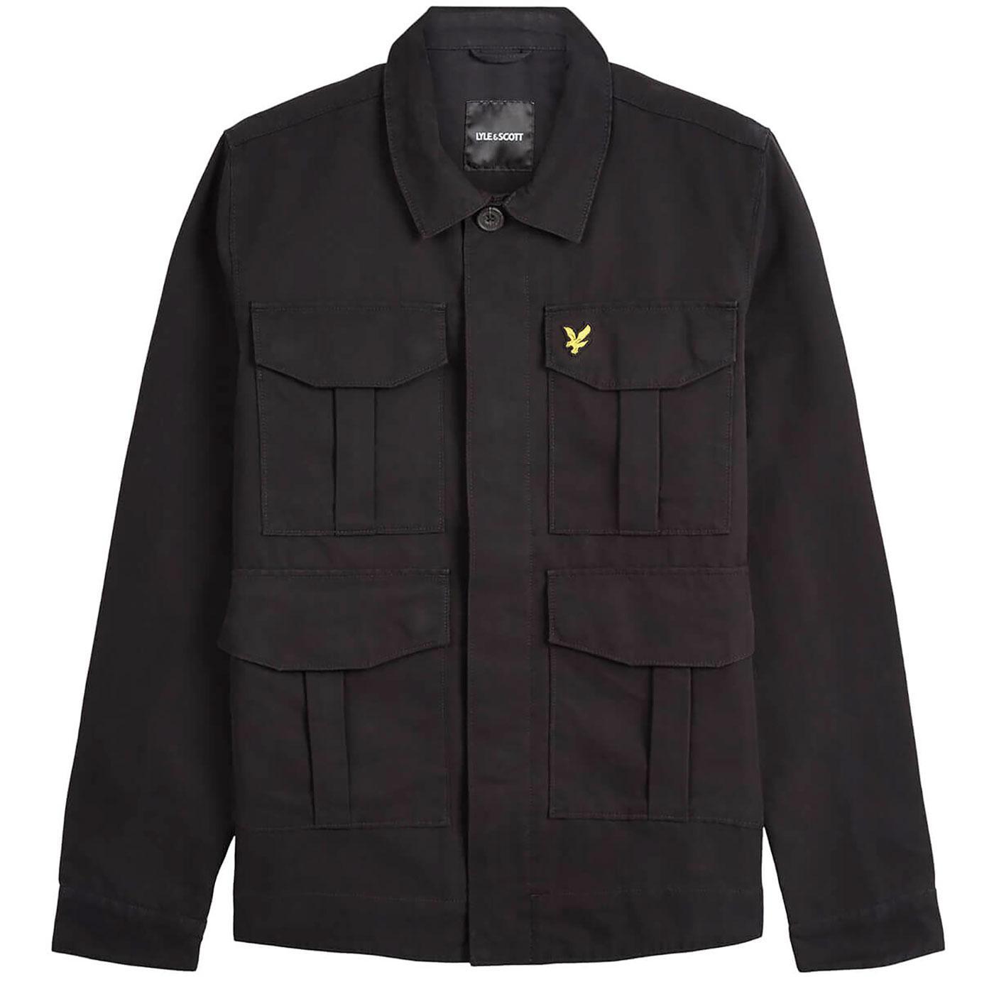 LYLE & SCOTT Men's Retro Military Utility Jacket