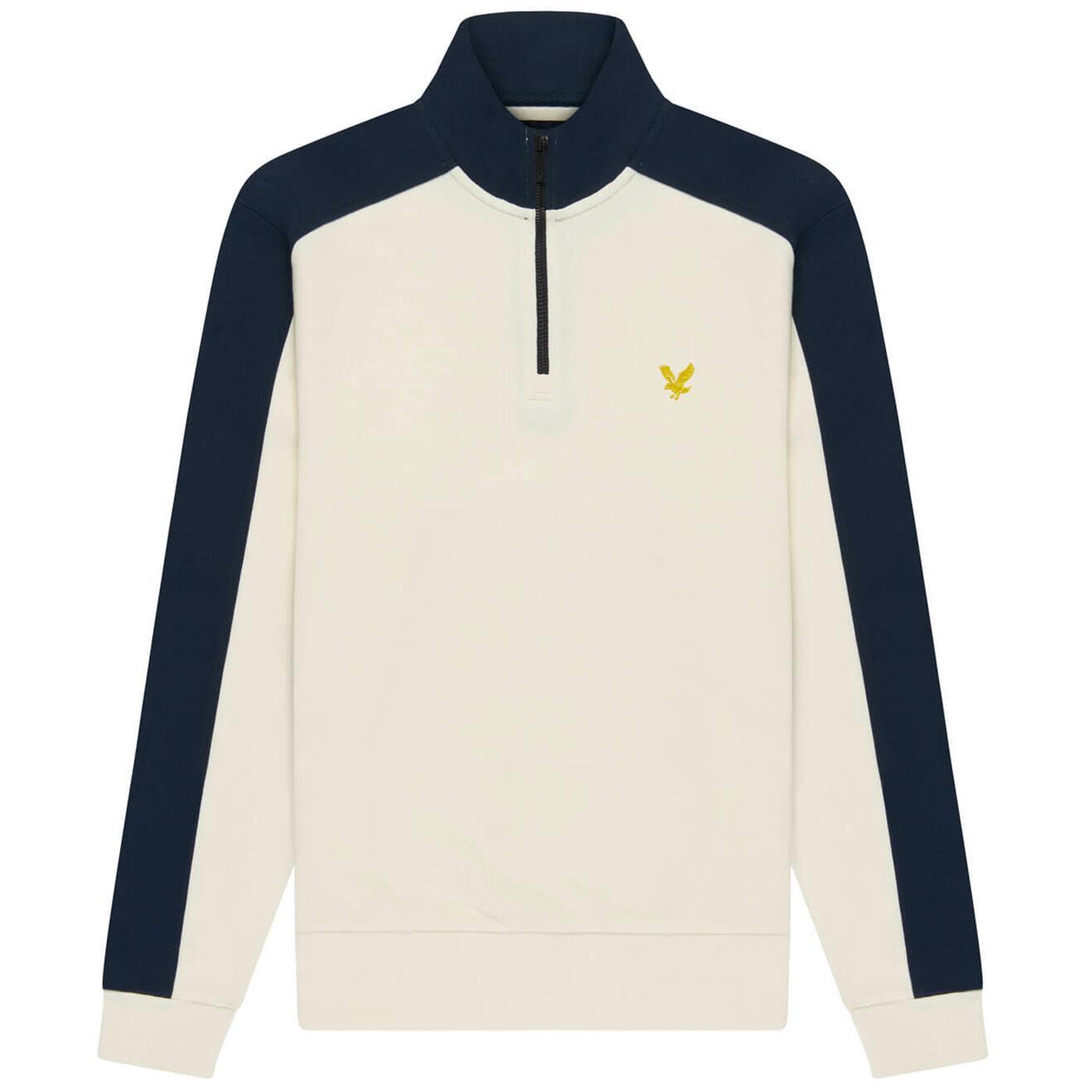 LYLE & SCOTT Archive Zip Funnel Neck Sweatshirt
