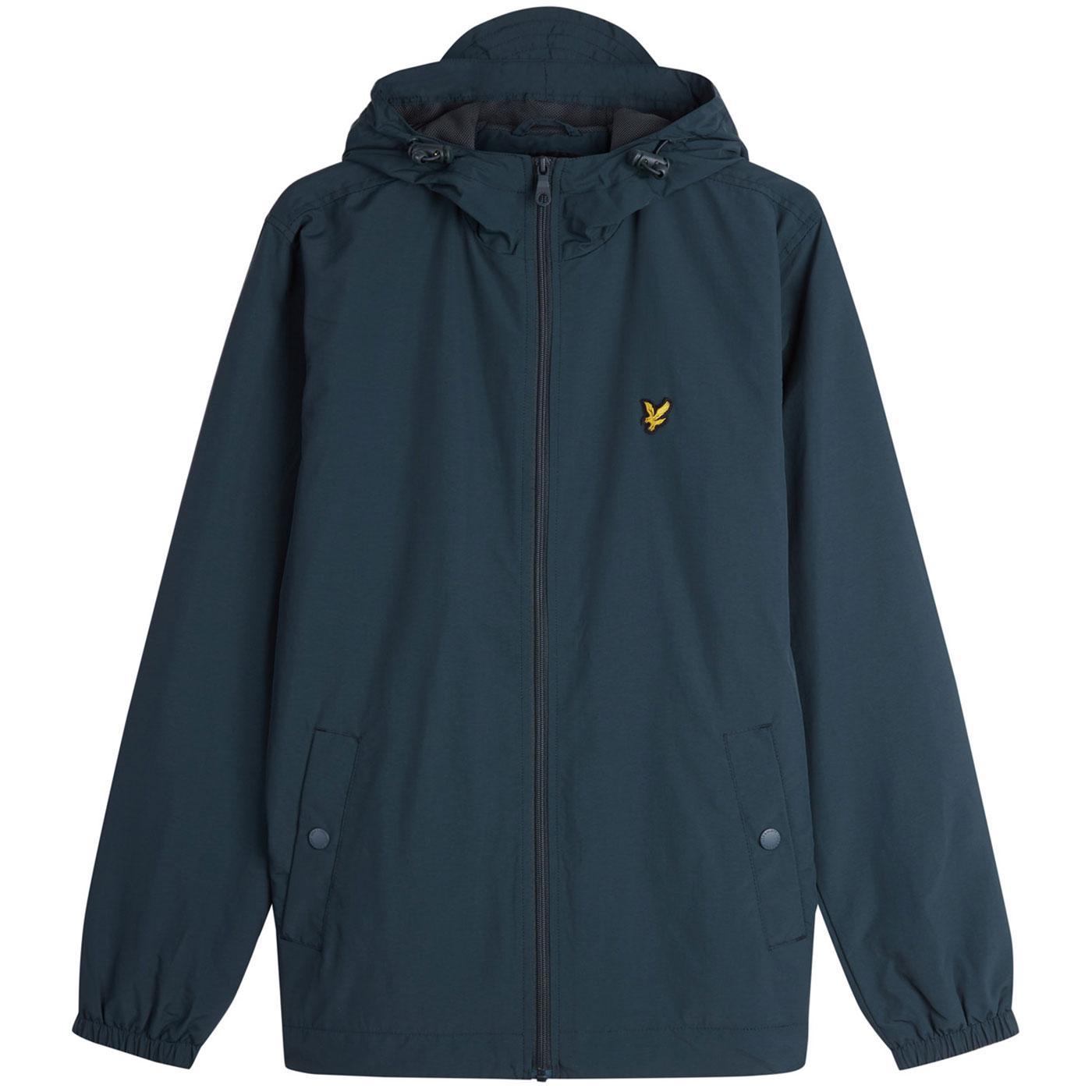 LYLE & SCOTT Retro Zip Through Hooded Jacket (JG)