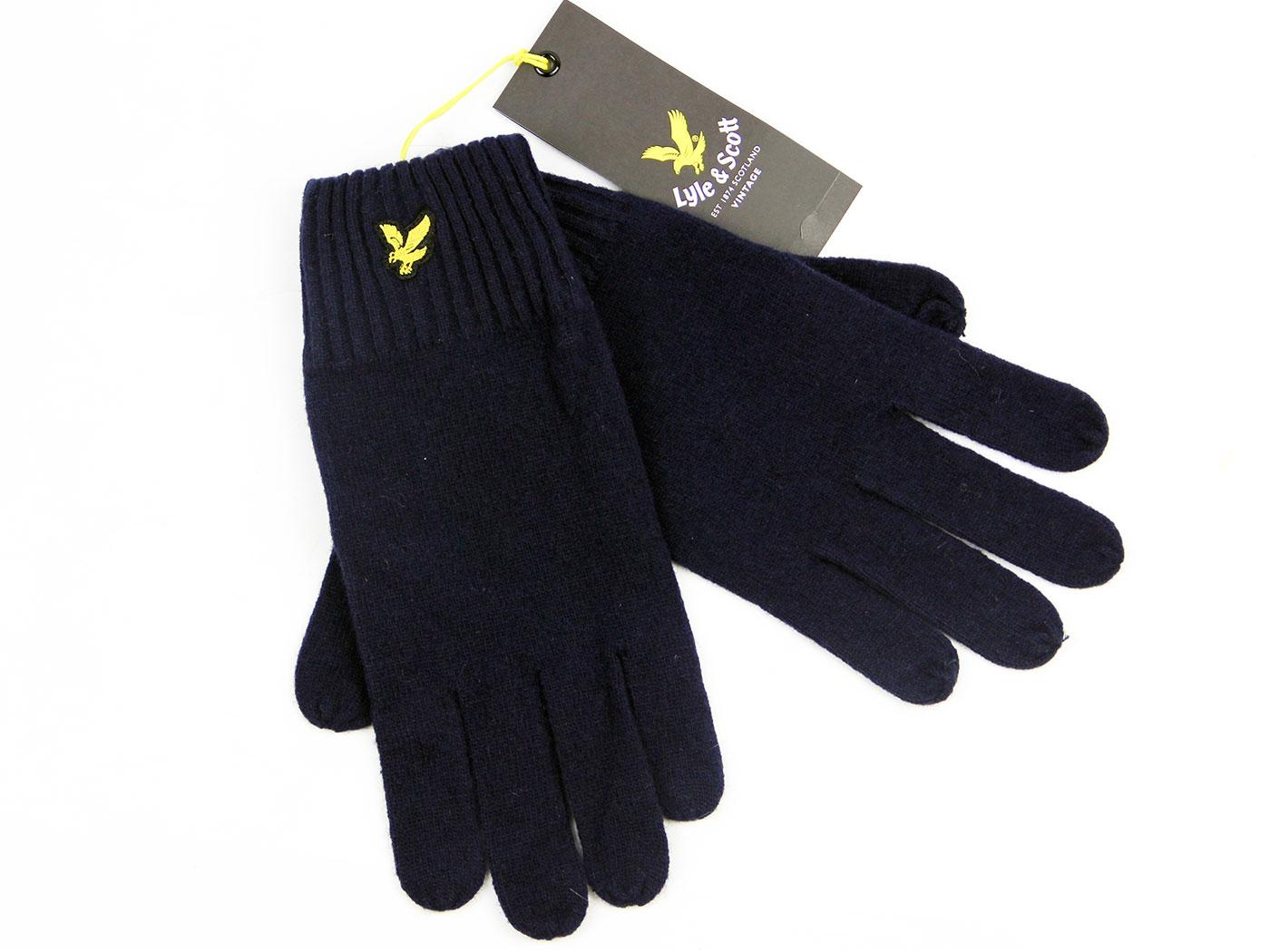 LYLE & SCOTT Retro Plain Lambswool Blend Gloves NN