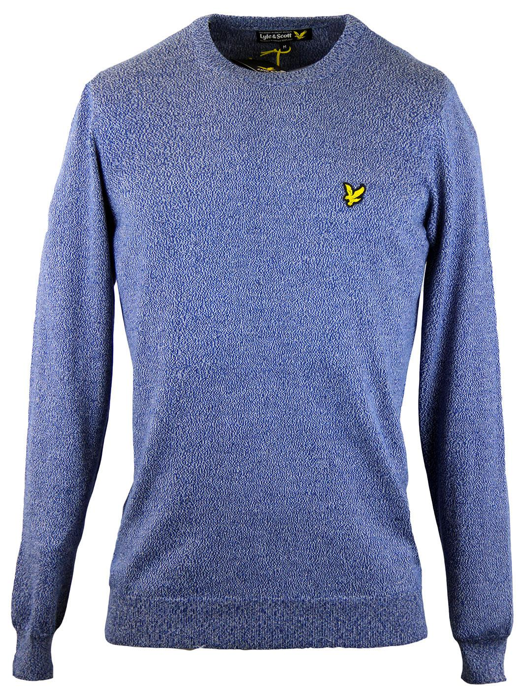 LYLE & SCOTT Retro Knit Crew Neck Mouline Jumper