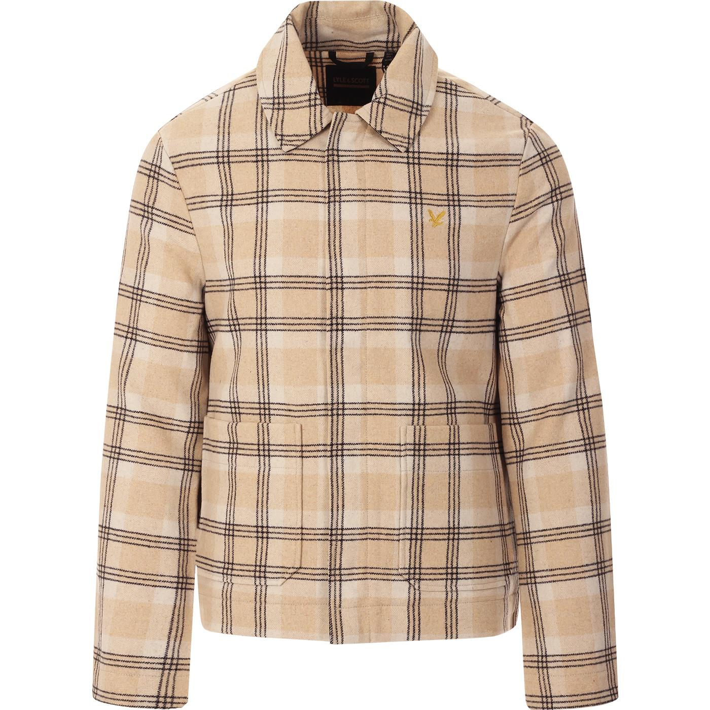 LYLE & SCOTT Archive 70s Wool Check Jacket (VI)