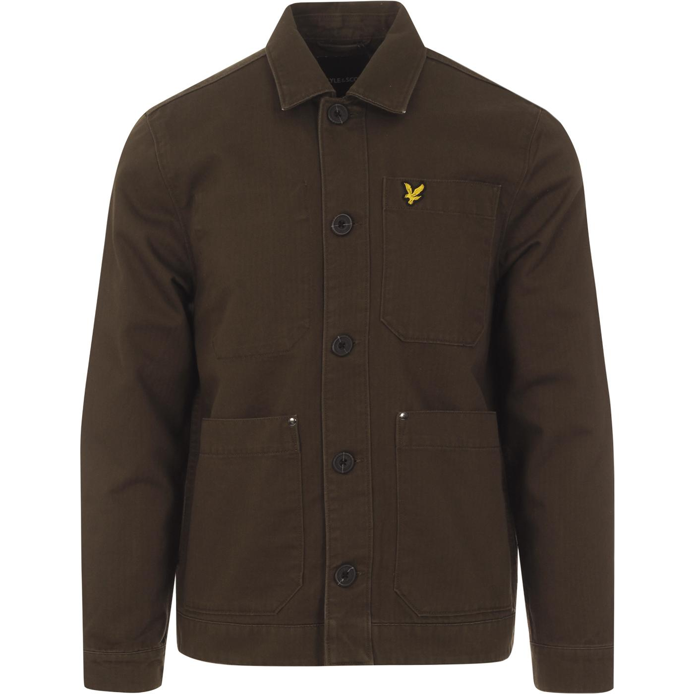 LYLE & SCOTT Herringbone Military Chore Jacket (G)