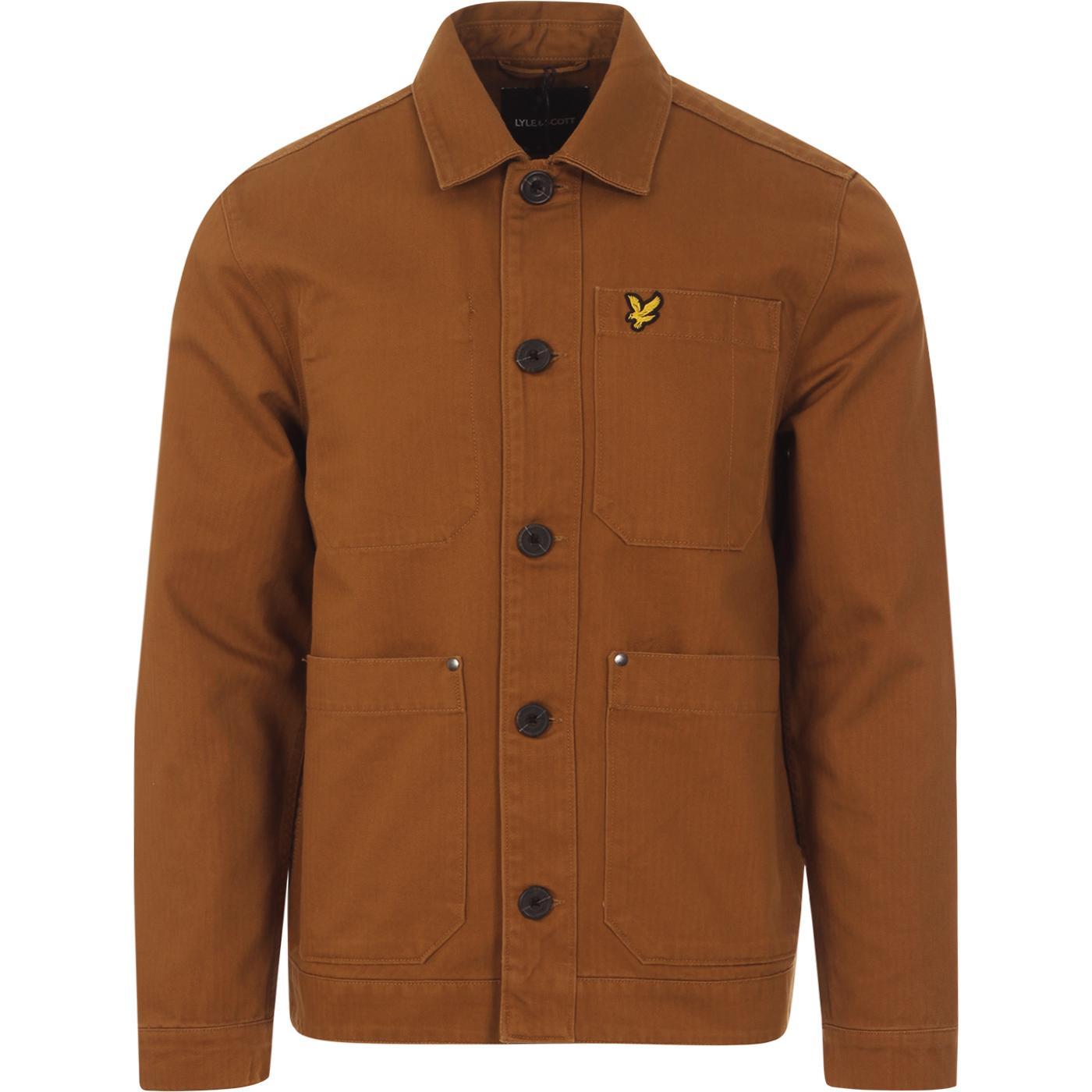LYLE & SCOTT Herringbone Military Chore Jacket (T)