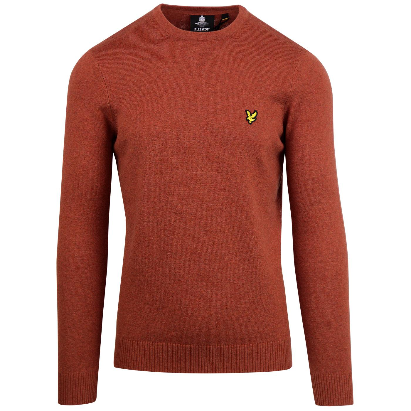 LYLE & SCOTT Merino Blend Knitted Crew Neck Jumper