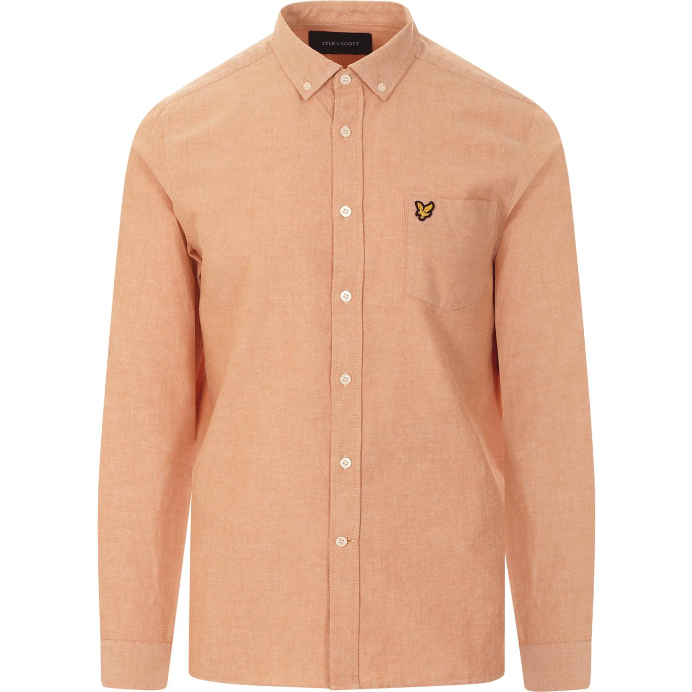 LYLE & SCOTT Button Down Oxford Shirt (Sunflower)