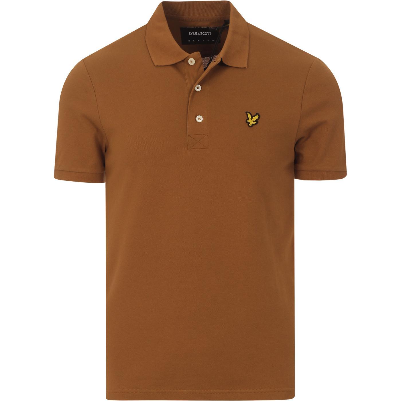 LYLE & SCOTT Mod Classic Pique Polo Shirt (TB)