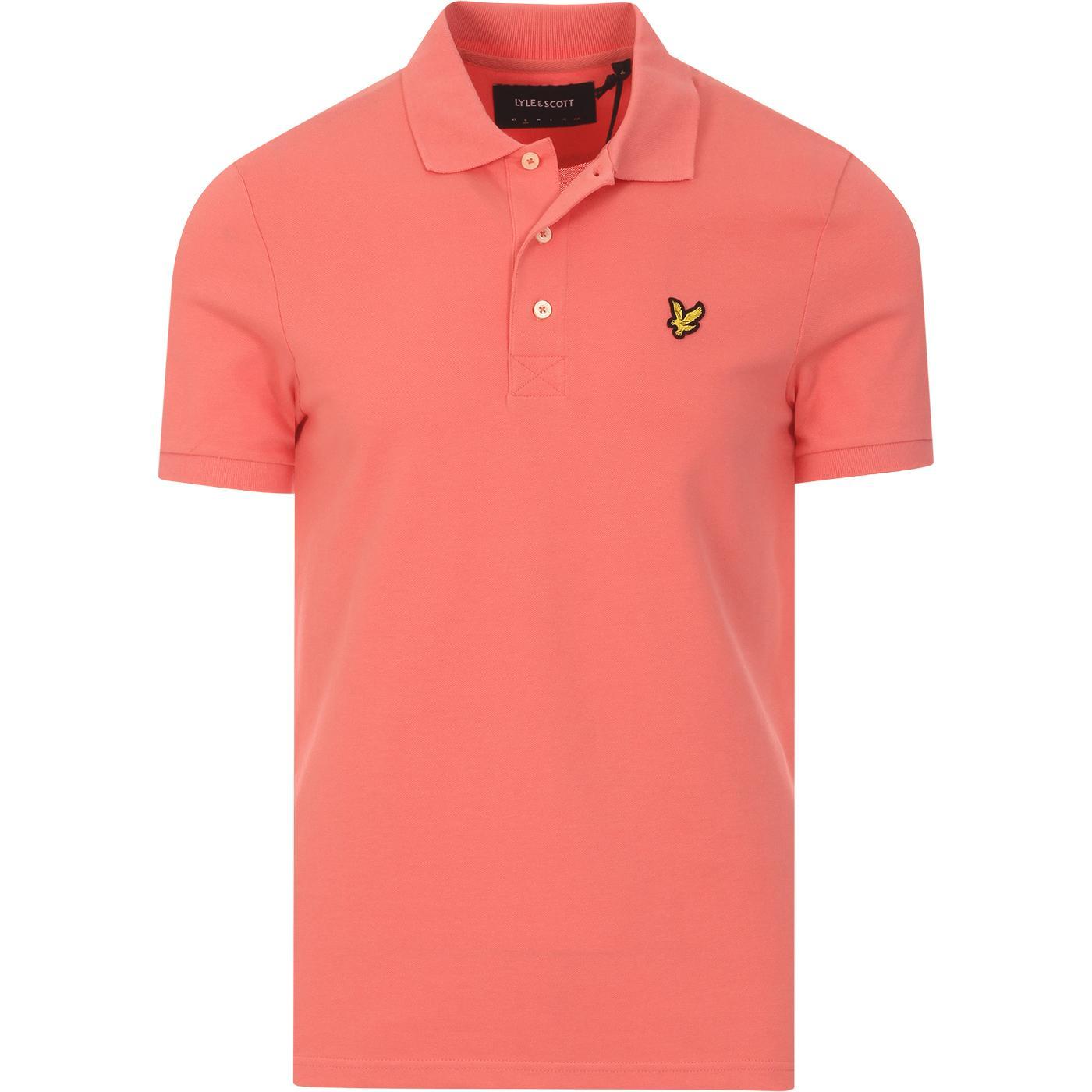 LYLE & SCOTT Mod Classic Pique Polo Shirt (PP)