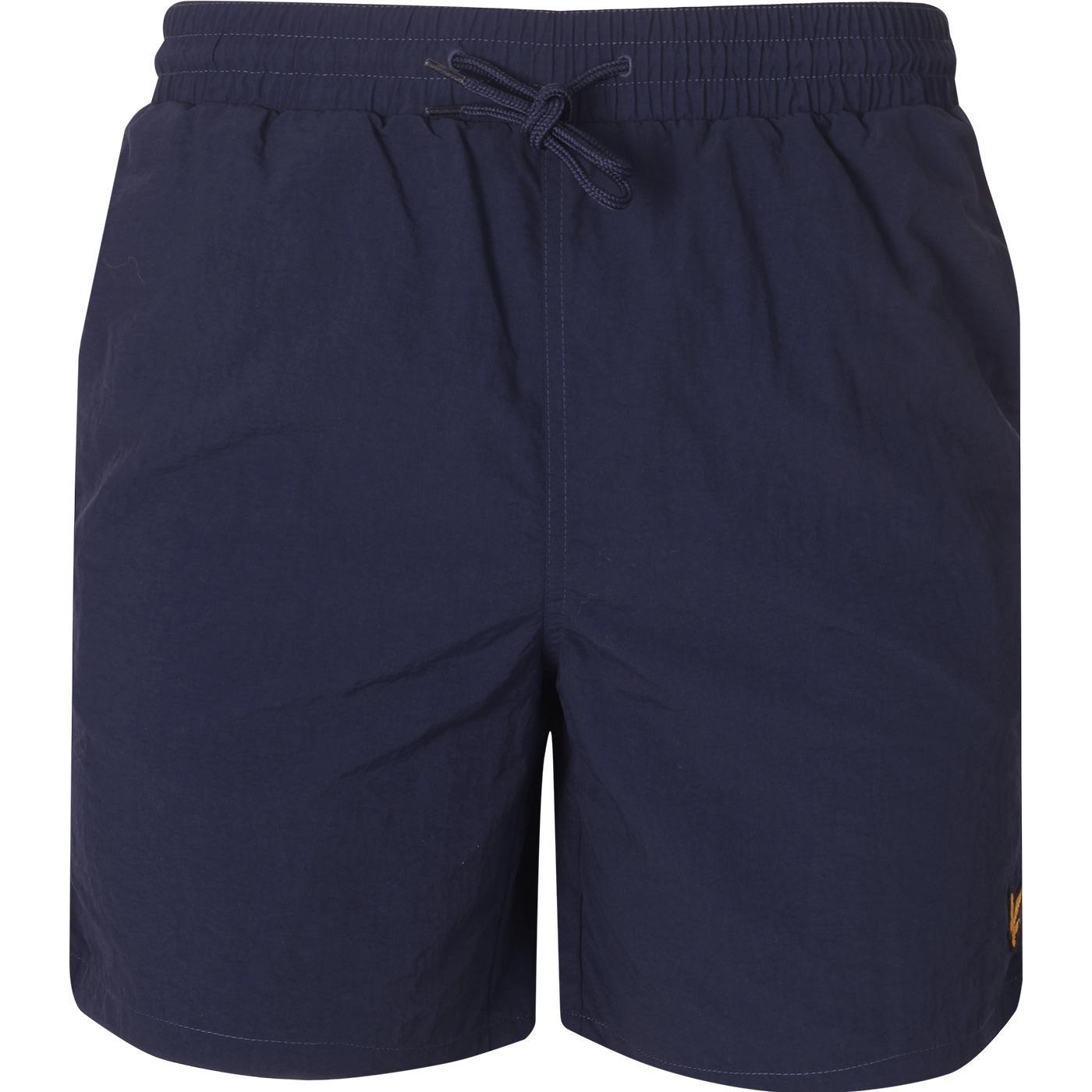 LYLE & SCOTT Men's Plain Retro Swim Shorts (Navy)