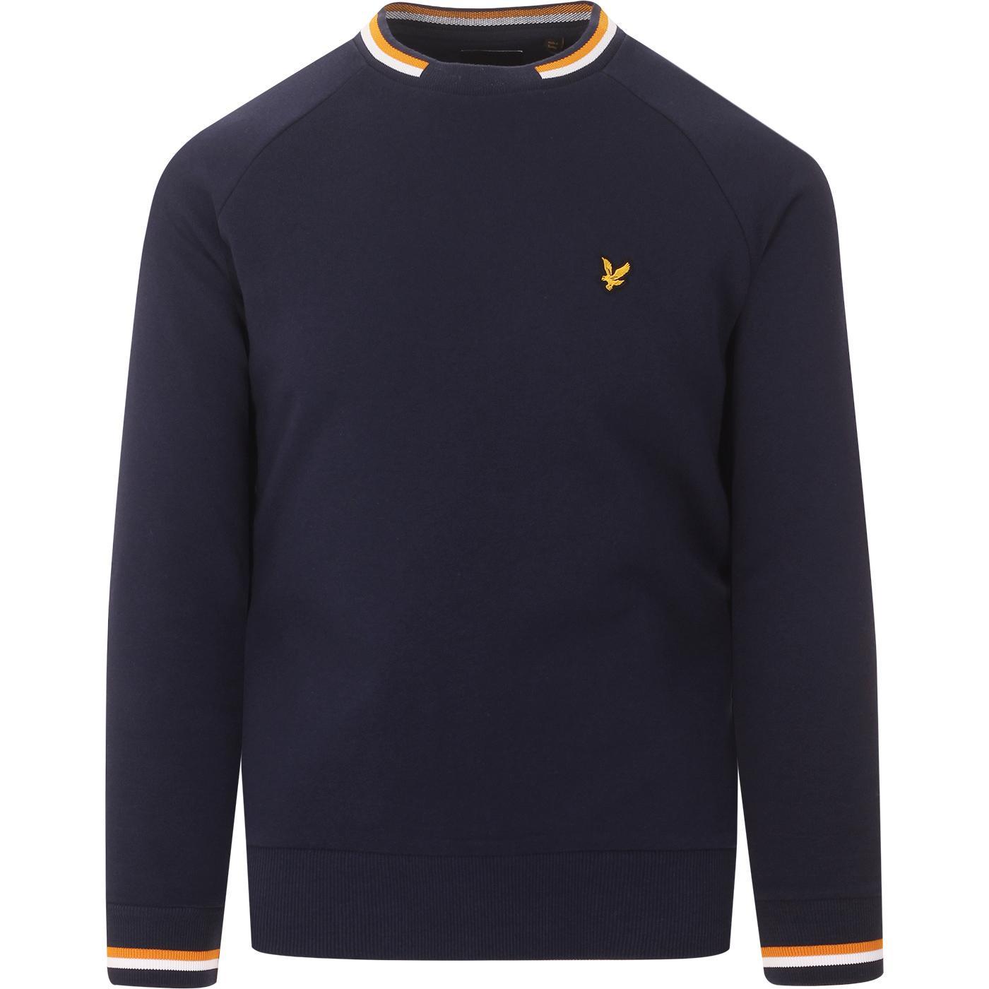LYLE & SCOTT Retro Double Tipped Sweatshirt (N)