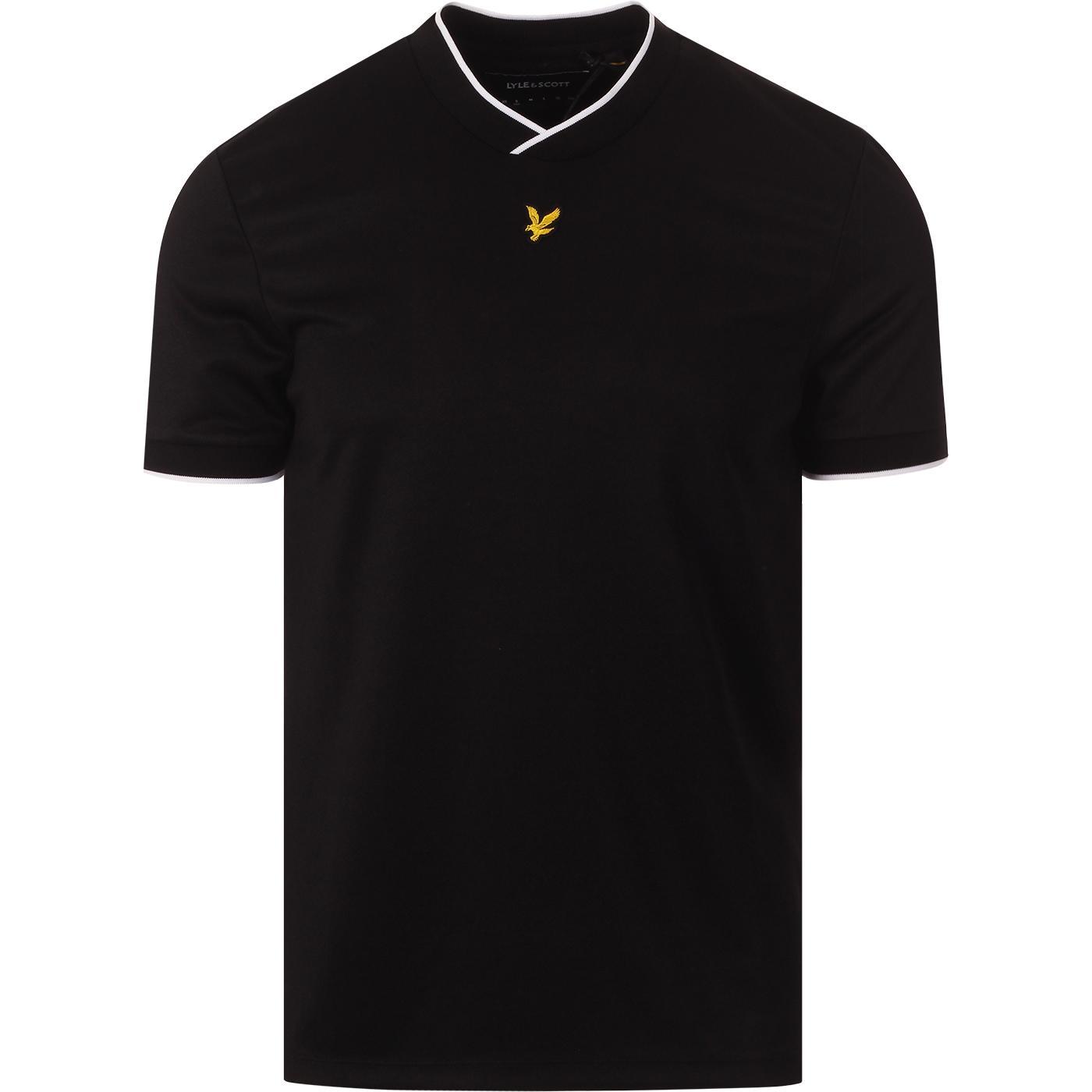 LYLE & SCOTT Men's Retro Football Jersey T-Shirt B