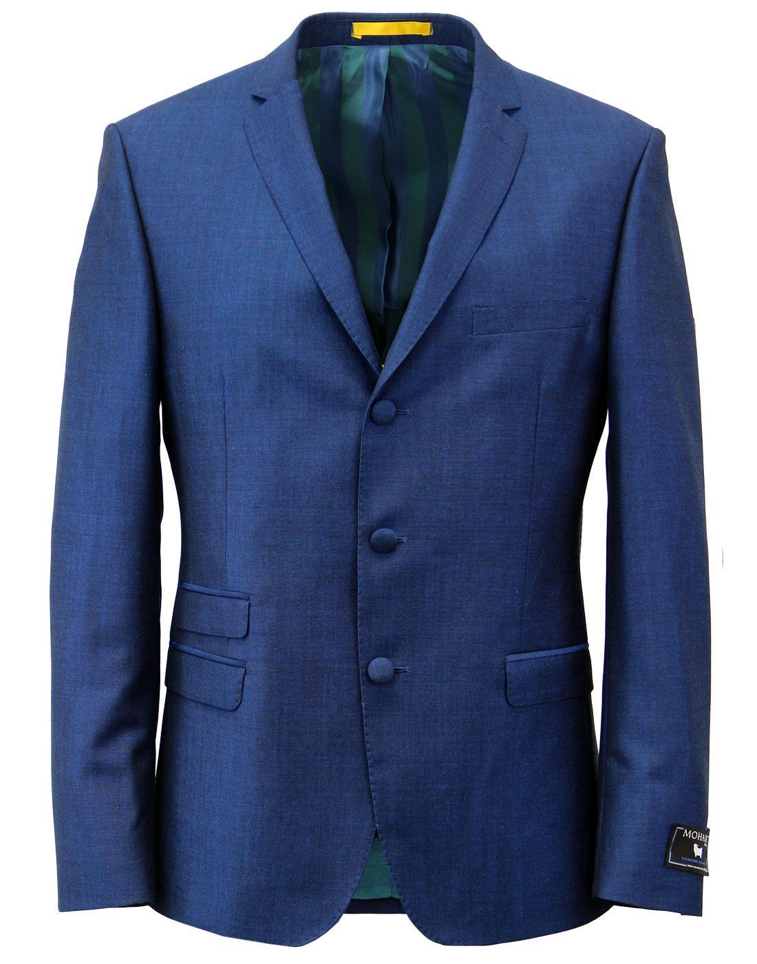 MADCAP ENGLAND 60s Mod Mohair Tonic Suit Jacket