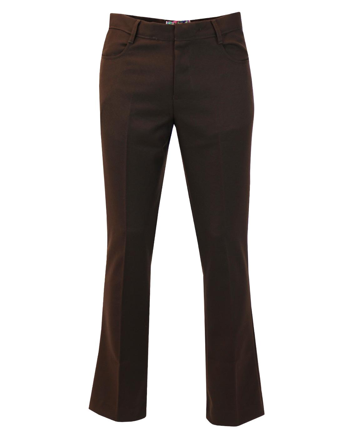 Logan Bootcut MADCAP ENGLAND Hopsack Trousers (Br)