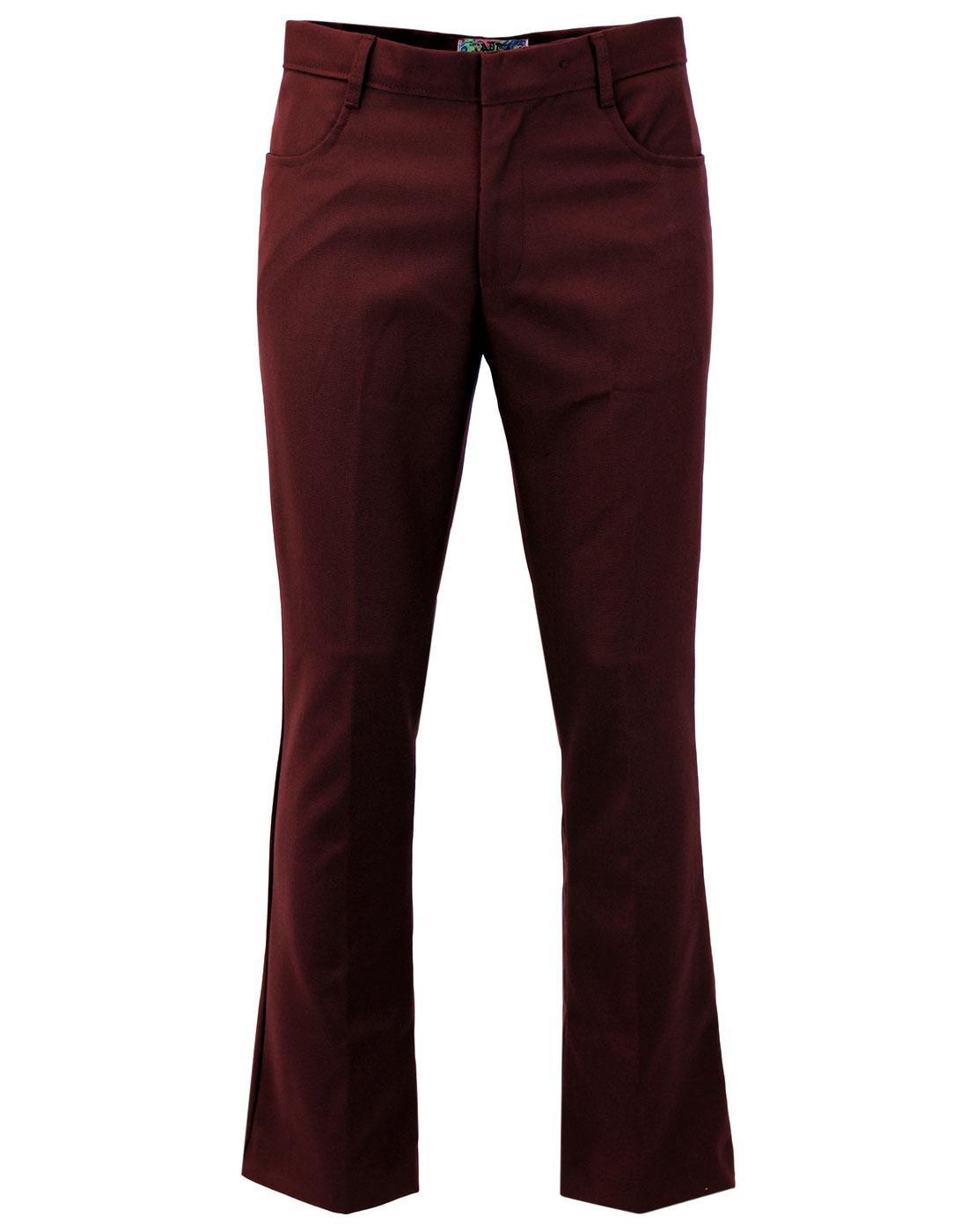 Logan Bootcut MADCAP ENGLAND Hopsack Trousers (Bu)