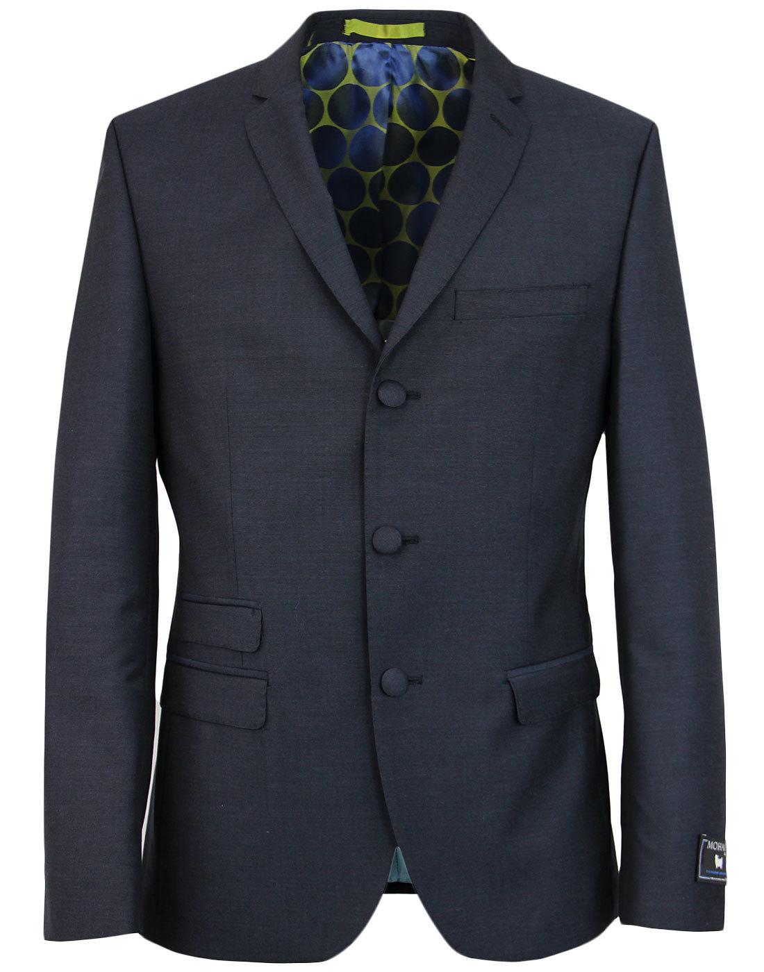 MADCAP ENGLAND Classic Mohair 3 Button Suit Jacket