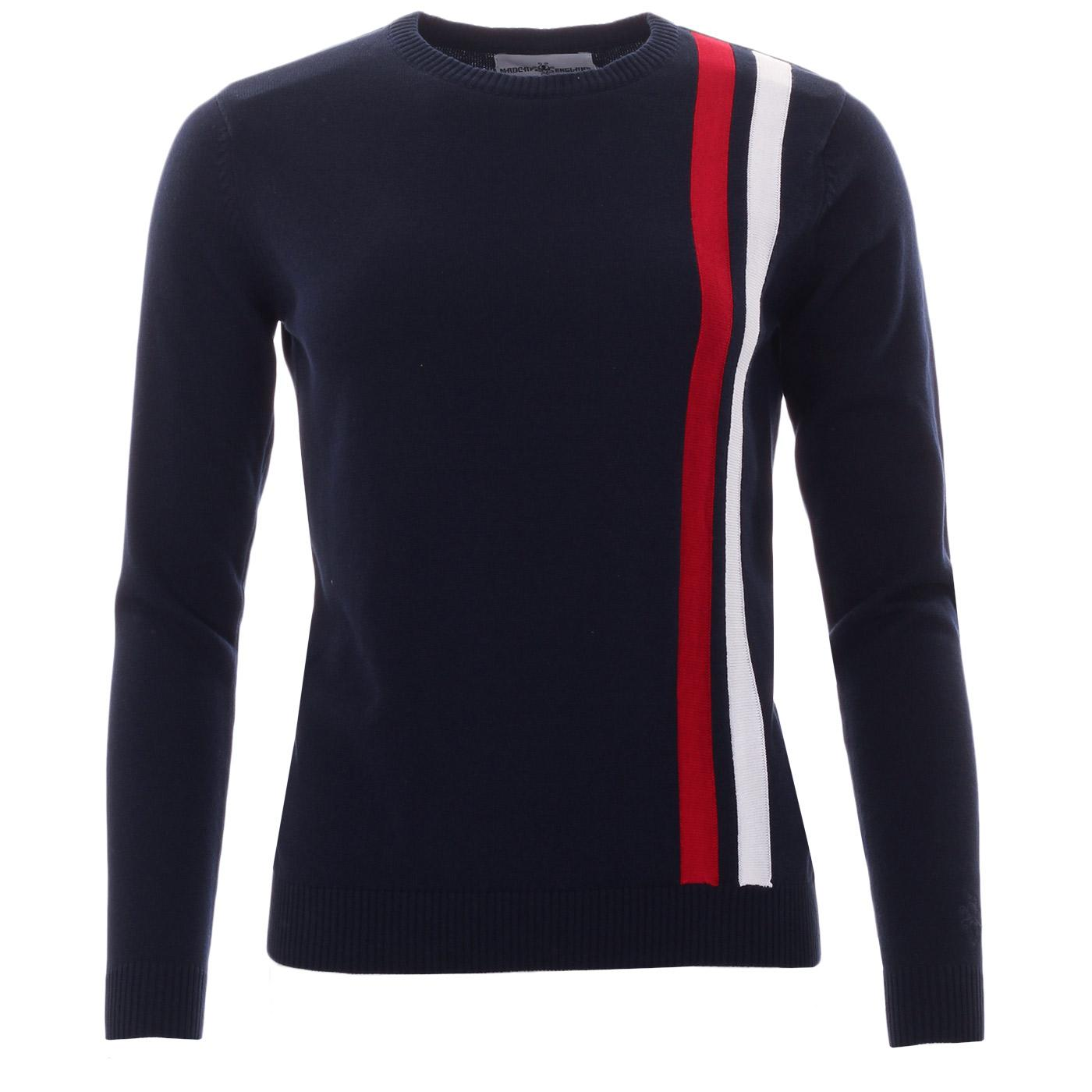 Action MADCAP ENGLAND Womens Mod Racing Jumper (N)