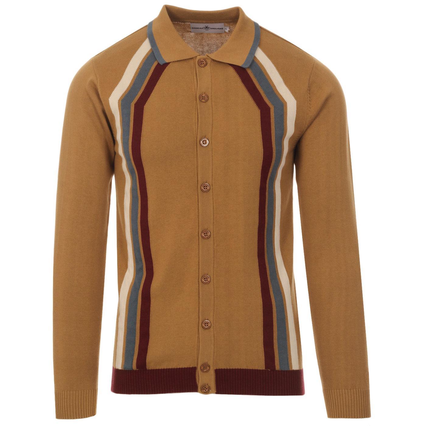 Blast MADCAP ENGLAND Mod Stripe Polo Cardigan (FL)