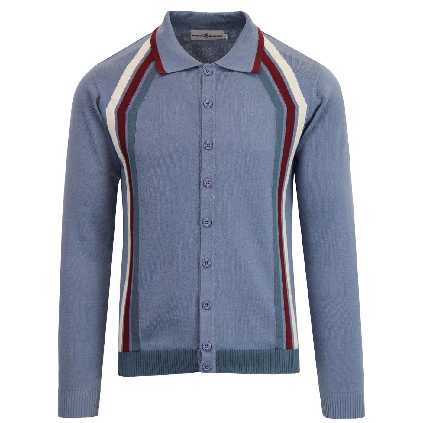 Blast MADCAP ENGLAND Mod Stripe Polo Cardigan (F)