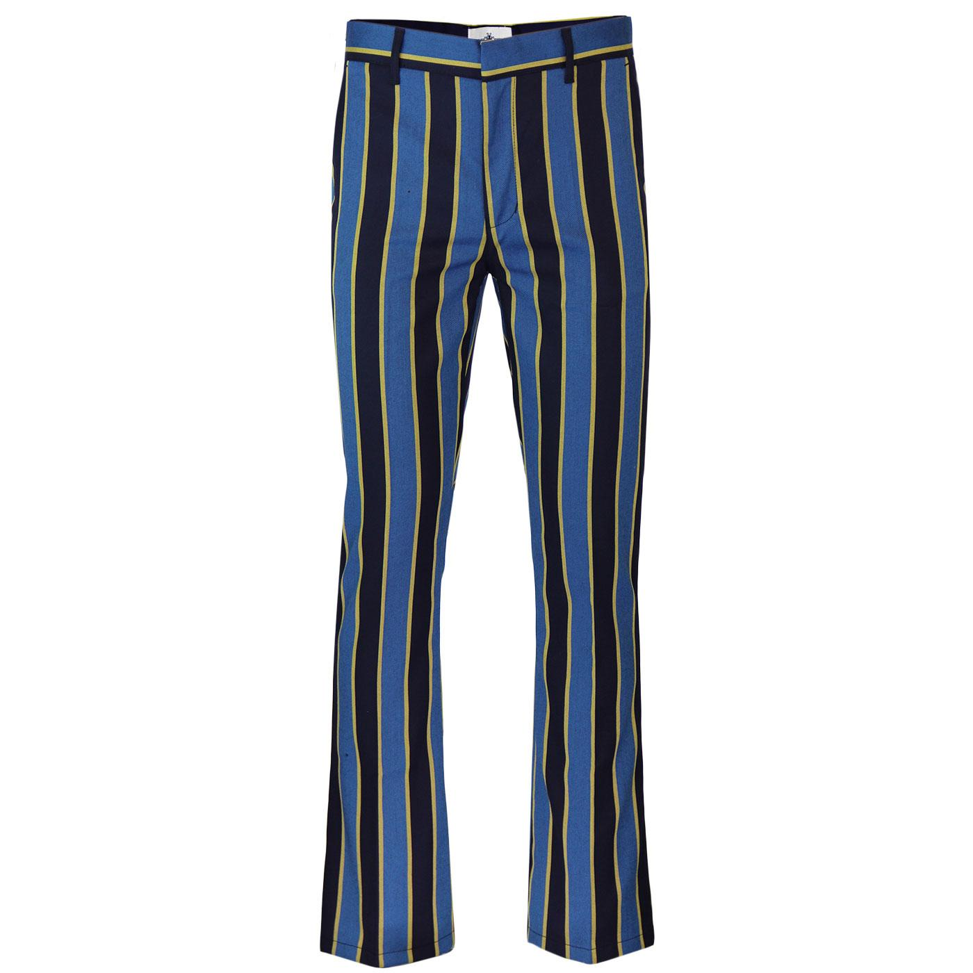 Backbeat MADCAP ENGLAND Stripe Bootcut Trousers BY