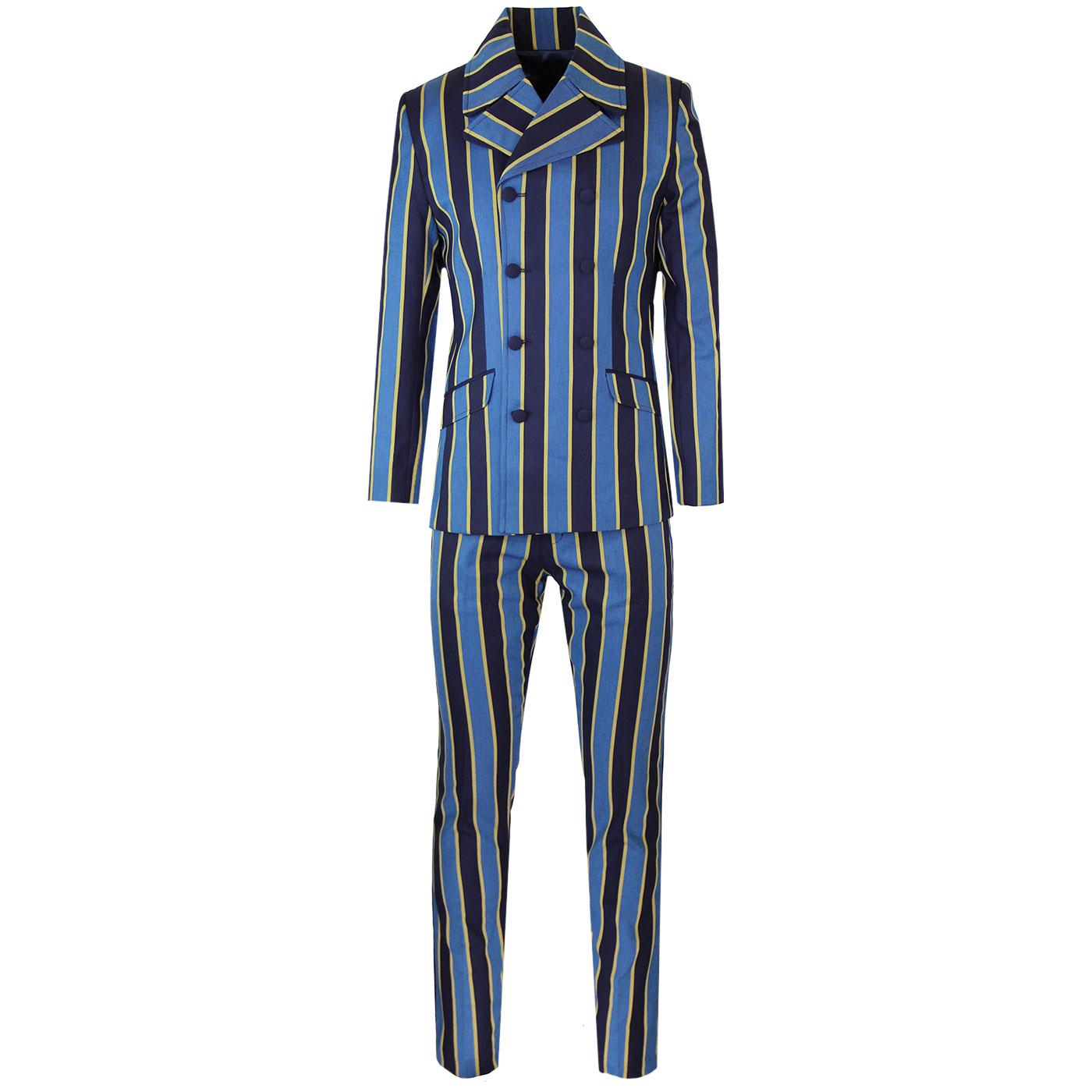 Backbeat MADCAP ENGLAND Mod Double Breasted Suit