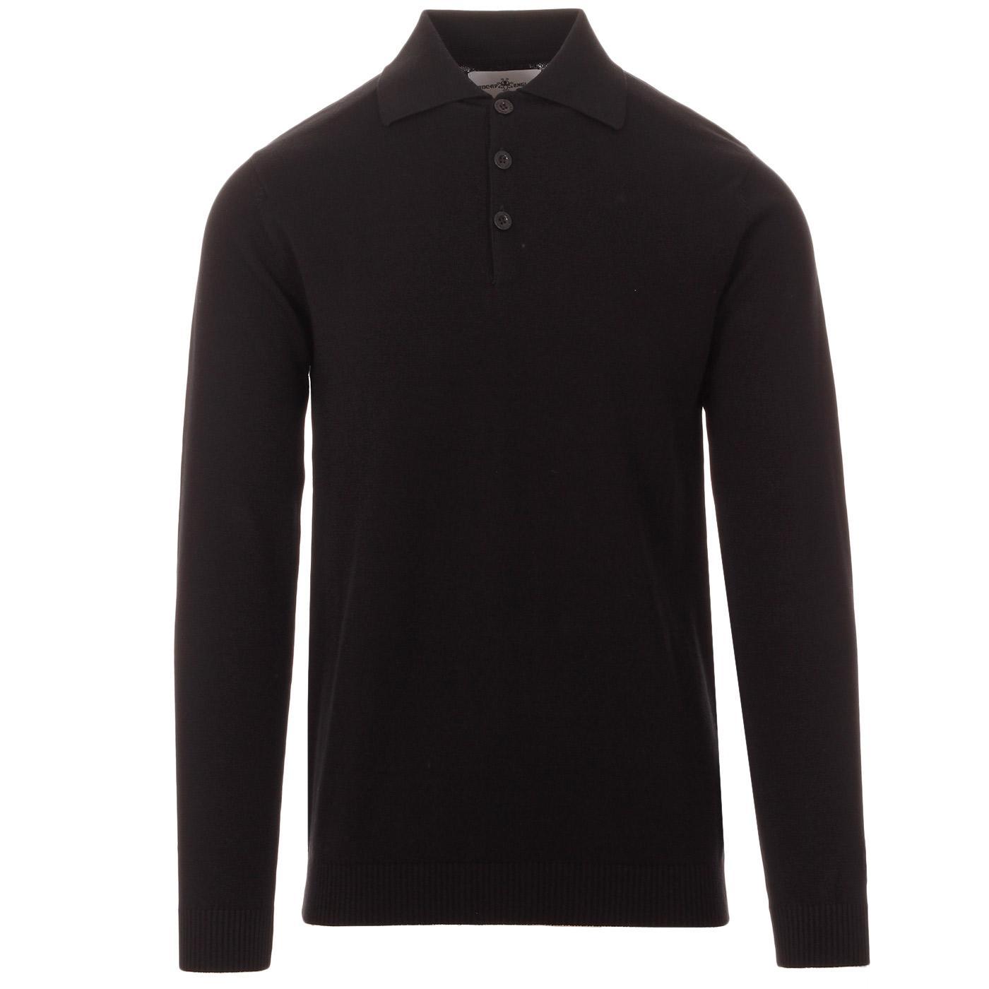 Brando MADCAP ENGLAND 1960s Mod Knitted Polo (B)