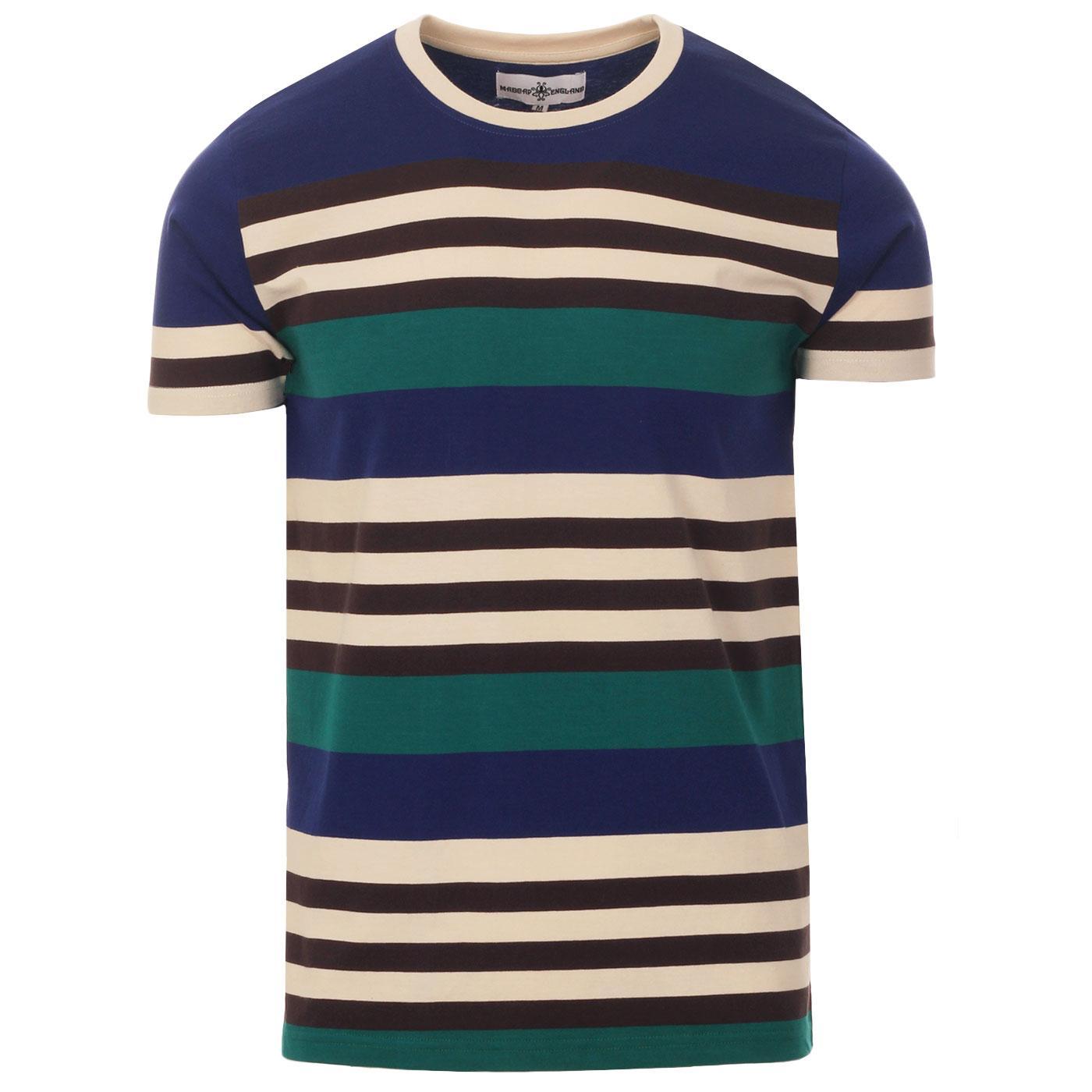 Cosmo MADCAP ENGLAND Retro 1970s Stripe T-shirt BB