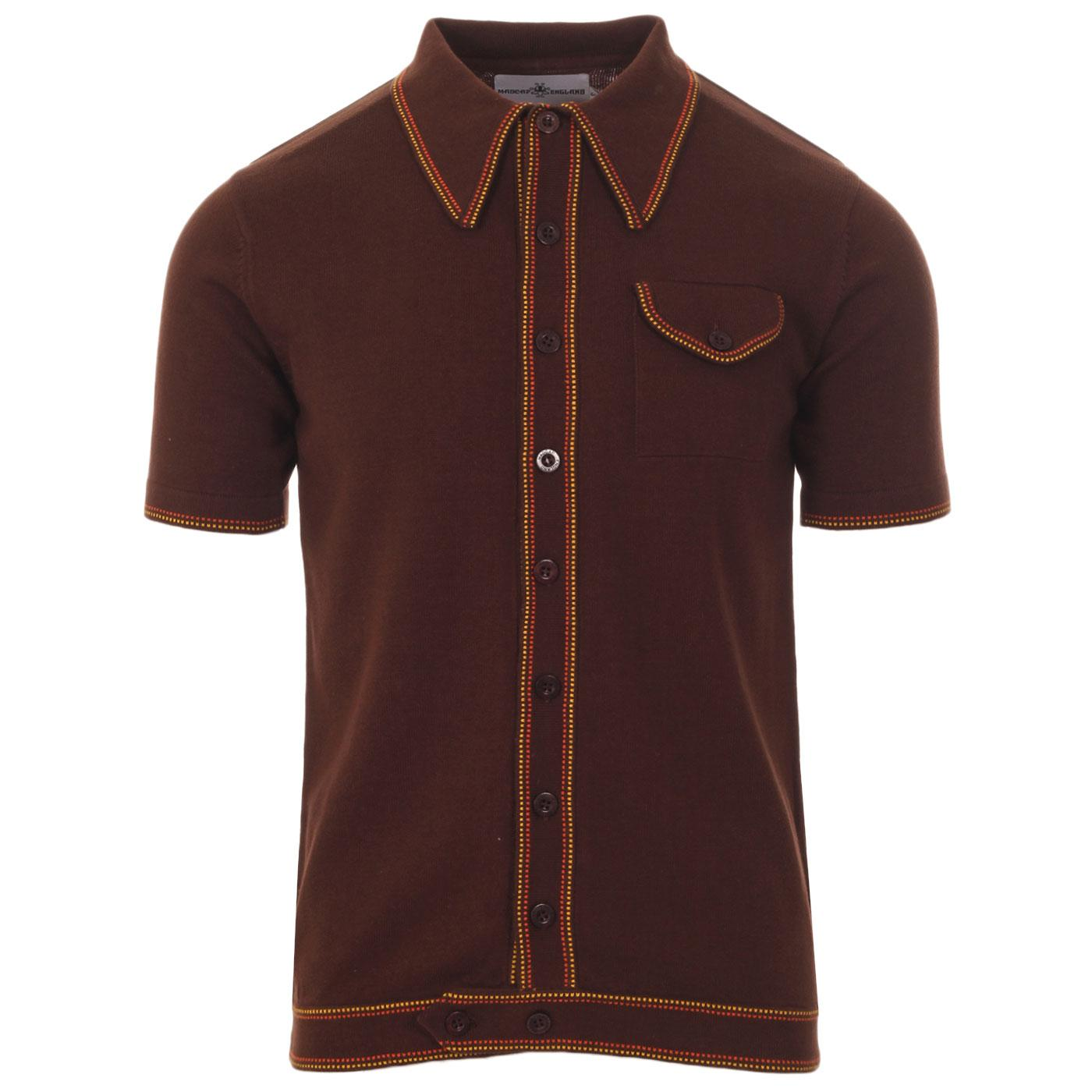 Crawdaddy MADCAP ENGLAND Micro Dash Knit Polo (PS)
