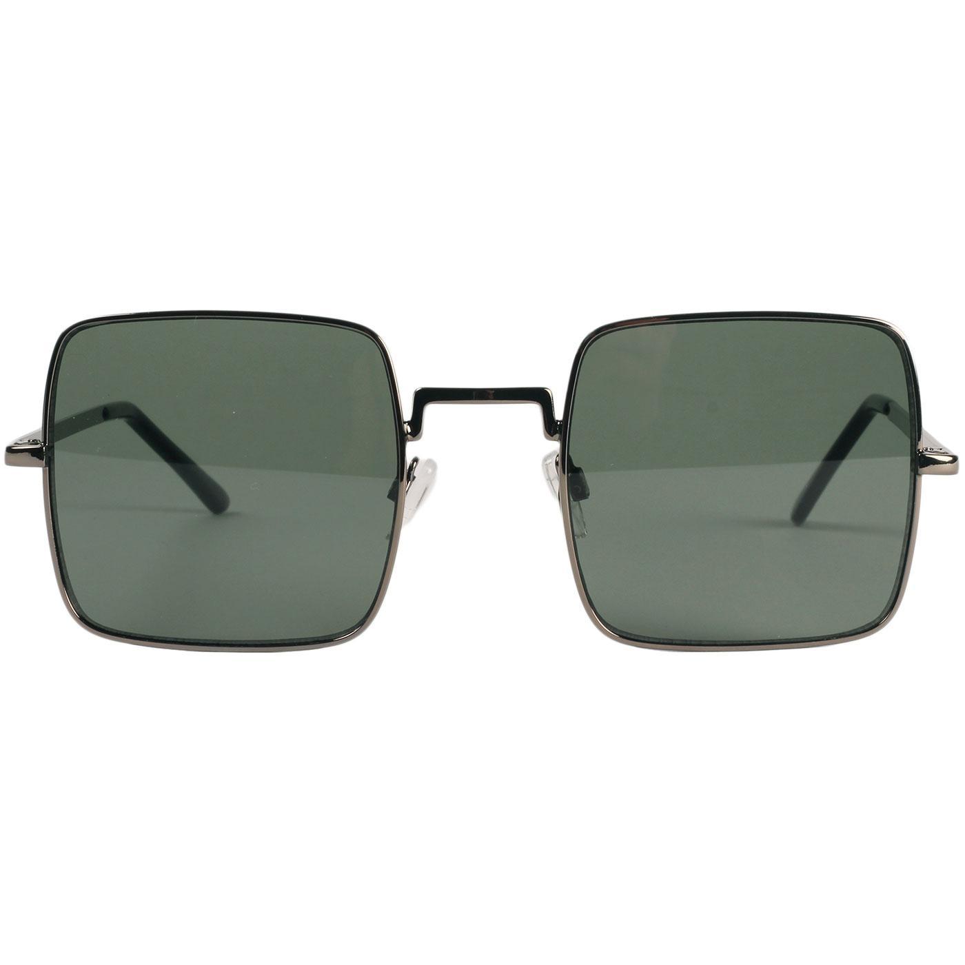 Harrison MADCAP ENGLAND 60s Square Sunglasses (G)