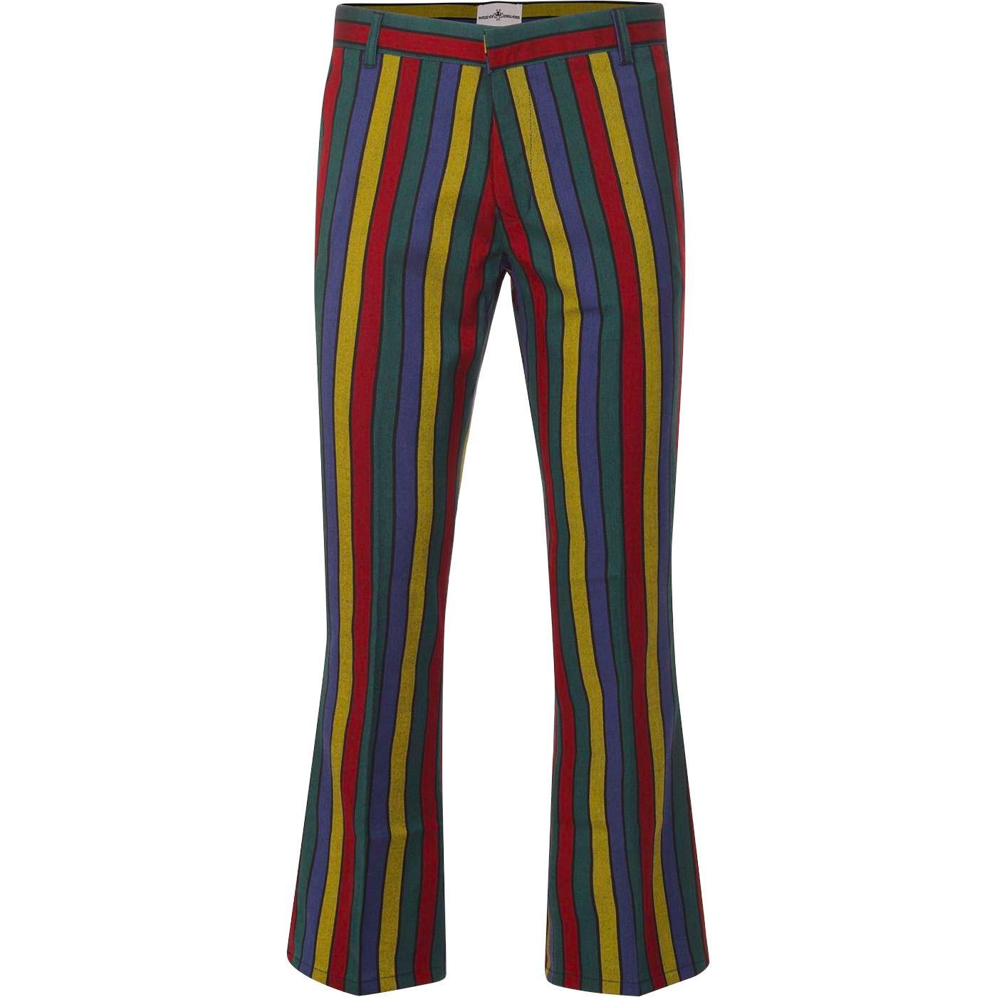 Hendrix Stripe MADCAP ENGLAND Retro 60s Flares