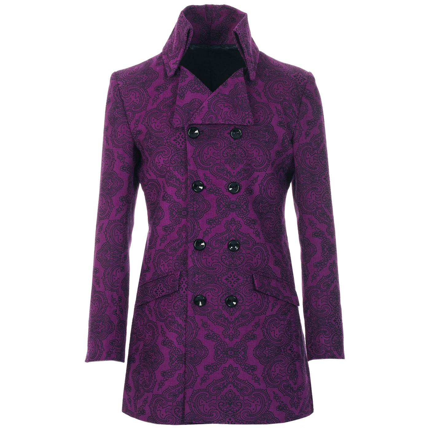 Paisley In Crowd MADCAP ENGLAND 60s Cord Jacket G