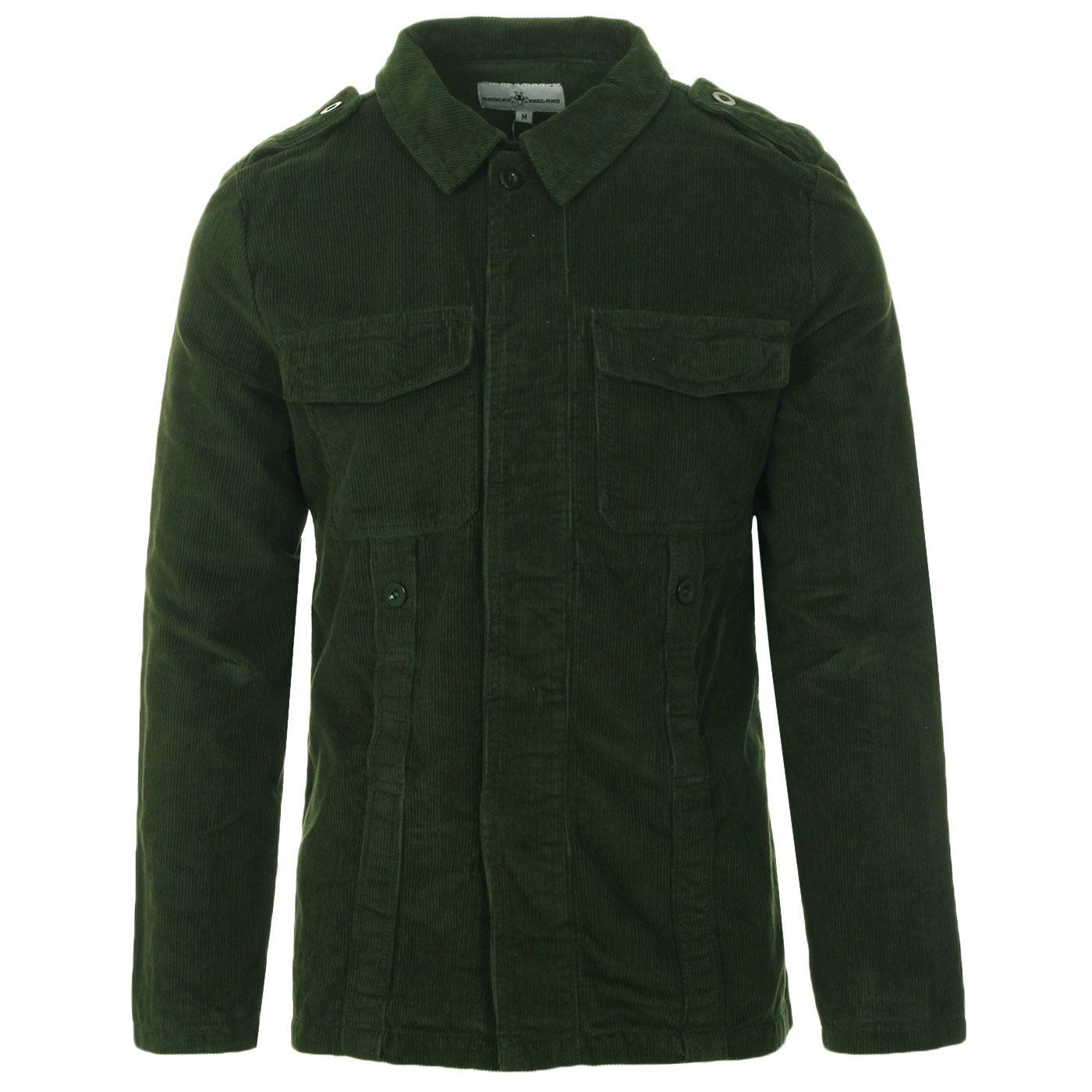 Lennon MADCAP ENGLAND Mod Cord Shirt Jacket (DF)