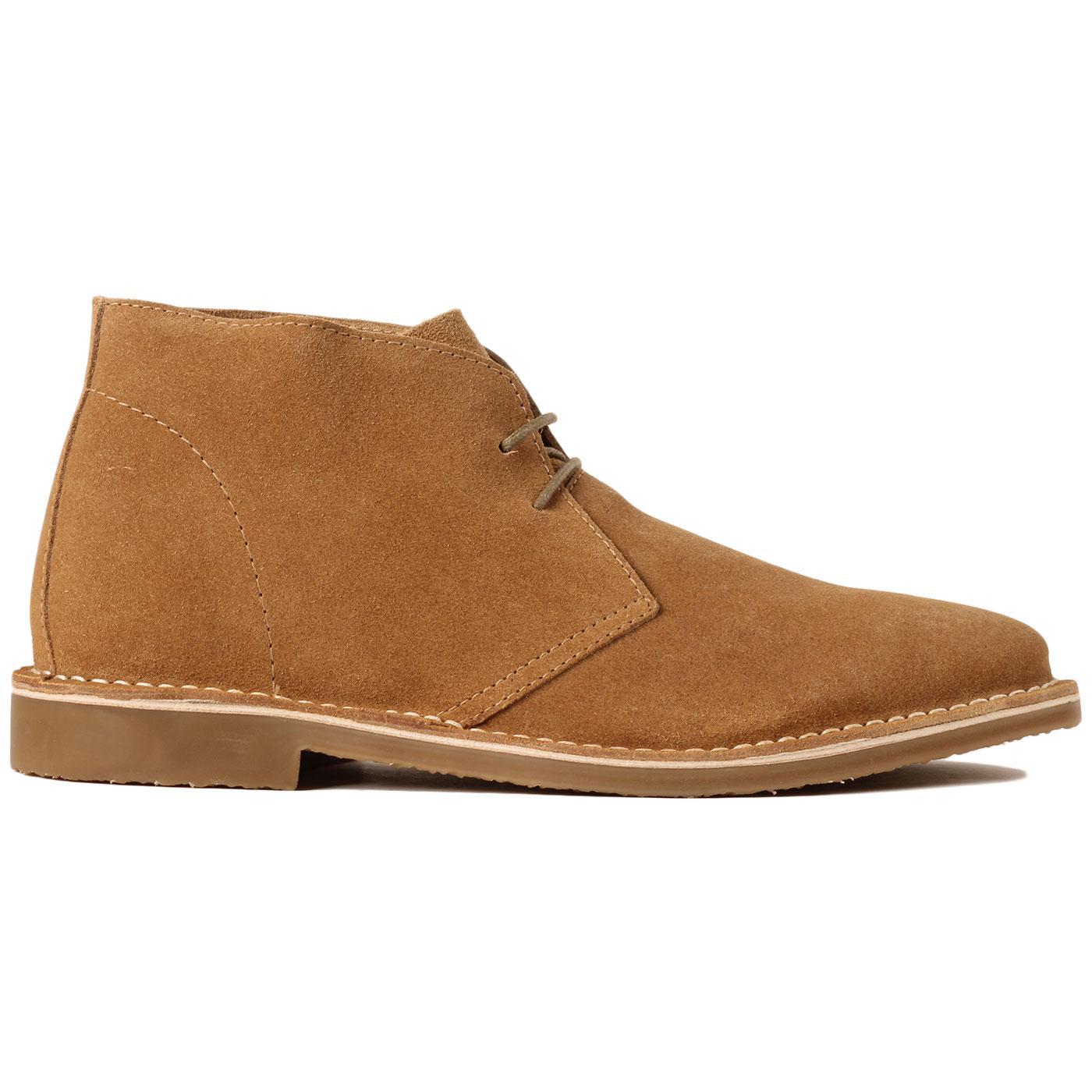Meaden MADCAP ENGLAND Mod Suede Desert Boots (GS)