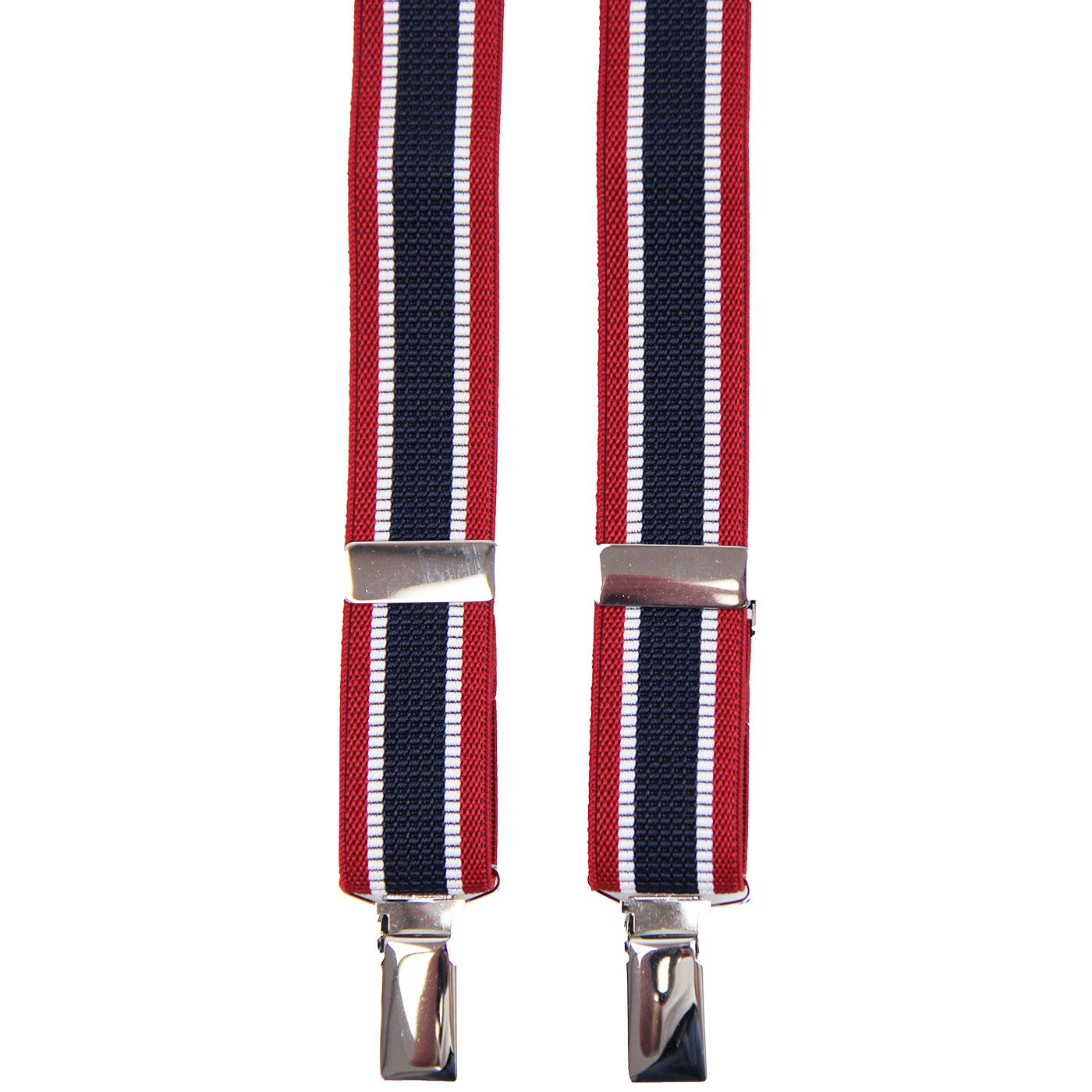 MADCAP ENGLAND Made in England Mod Stripe Braces R