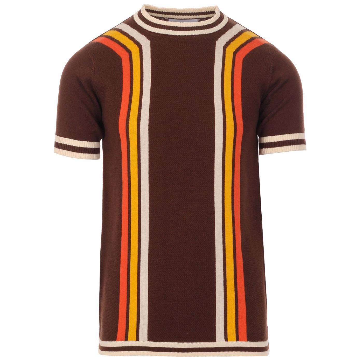 Modernista MADCAP ENGLAND Waffle Stripe T-shirt PS