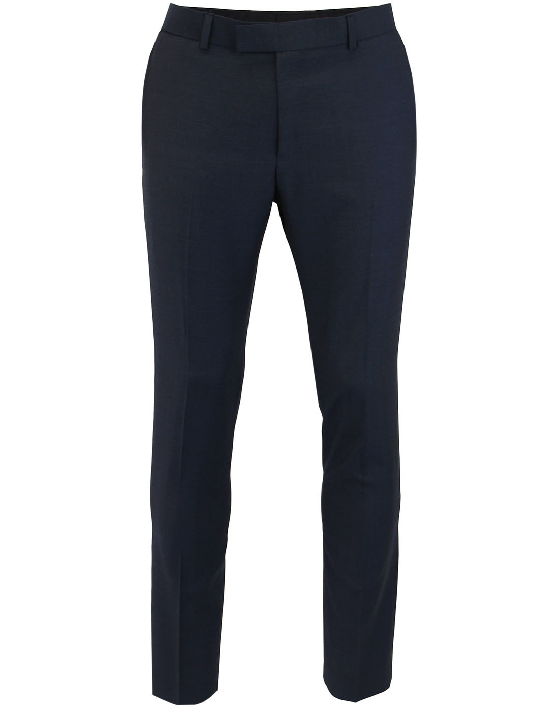 MADCAP ENGLAND Mod Mohair Slim Suit Trousers NAVY