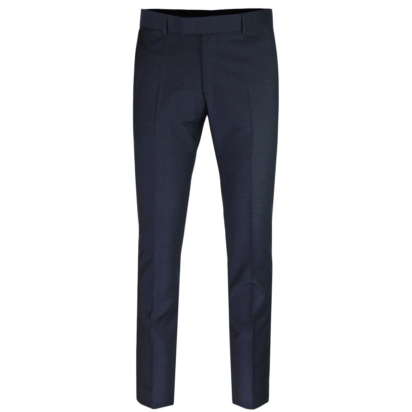 MADCAP ENGLAND Mod Mohair Tonic Trousers (Navy)