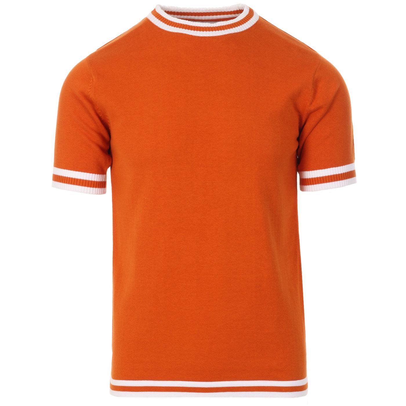 Moon MADCAP ENGLAND Mod Knit Tee (Burnt Orange)