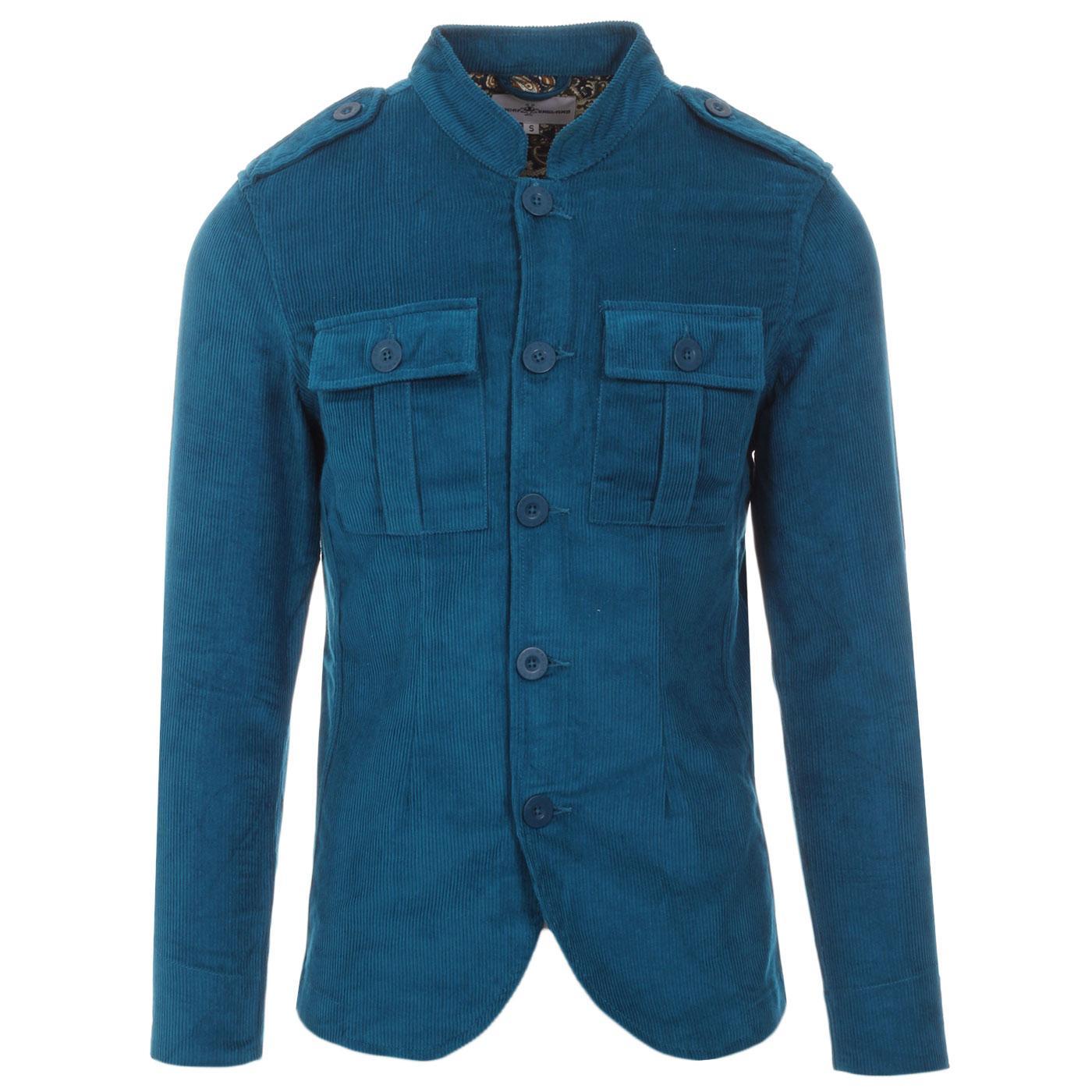 Pepper MADCAP ENGLAND Mod Cord Tunic Jacket (Ink)
