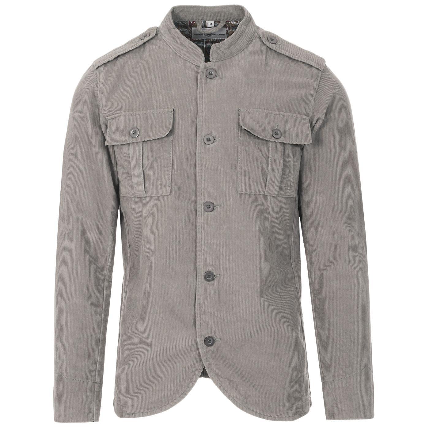 Pepper MADCAP ENGLAND Mod Cord Tunic Jacket (DG)
