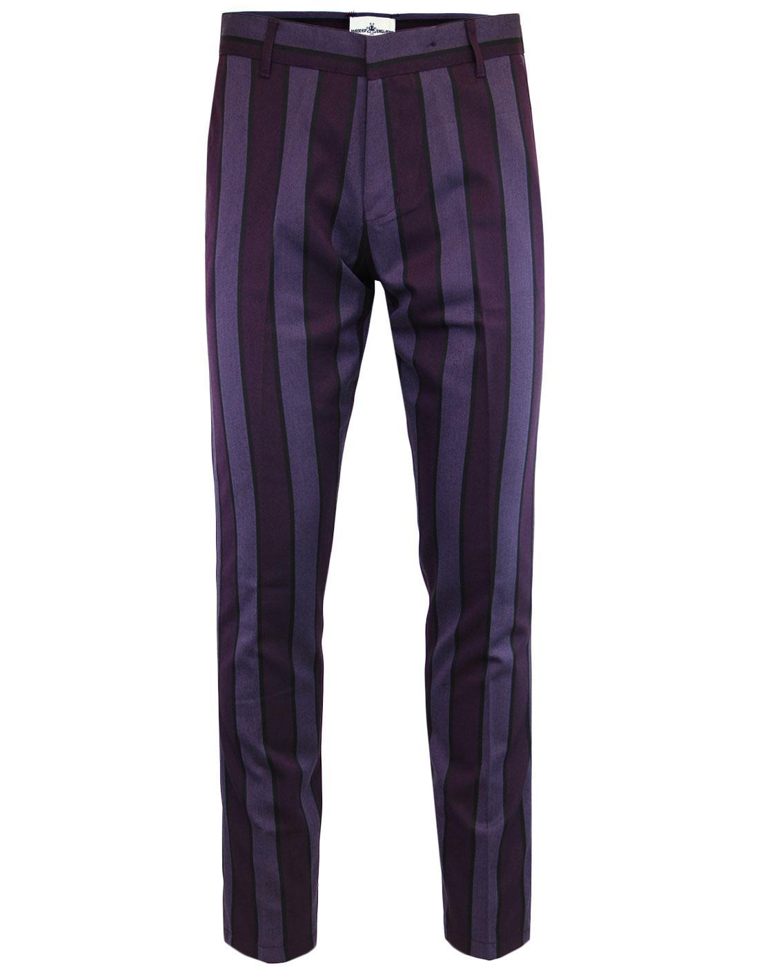 Speakeasy MADCAP ENGLAND Mod Slim Stripe Trousers