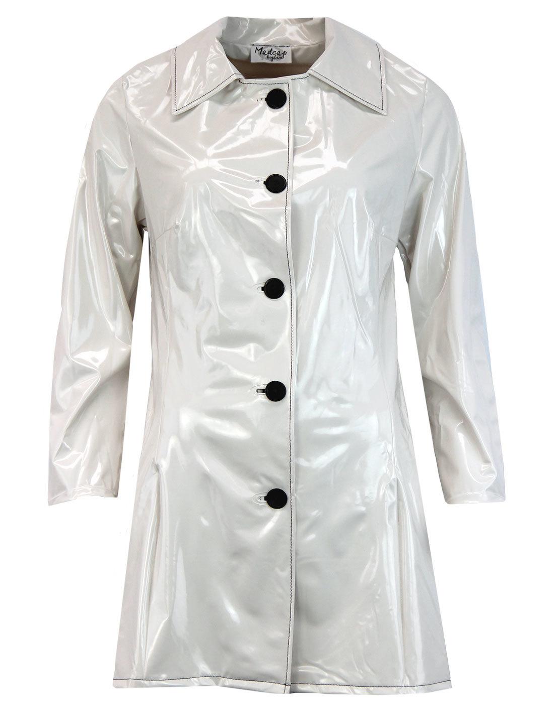 Jackie MADCAP Made in England Retro 60s Raincoat W