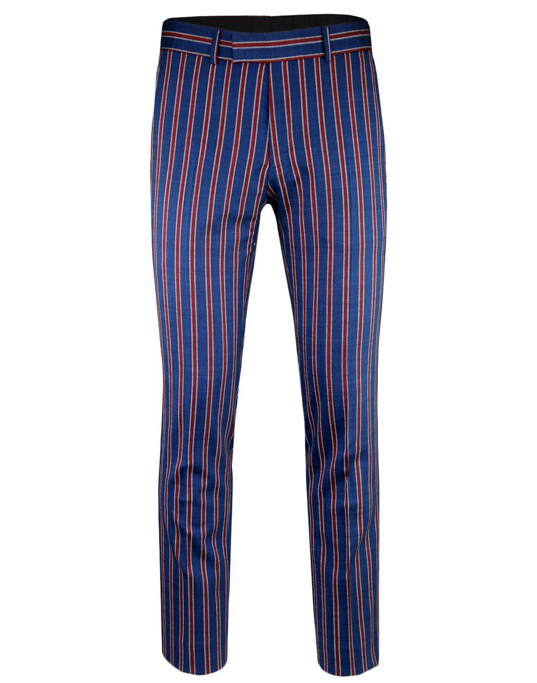 MADCAP ENGLAND Mod Regatta Stripe Suit Trousers