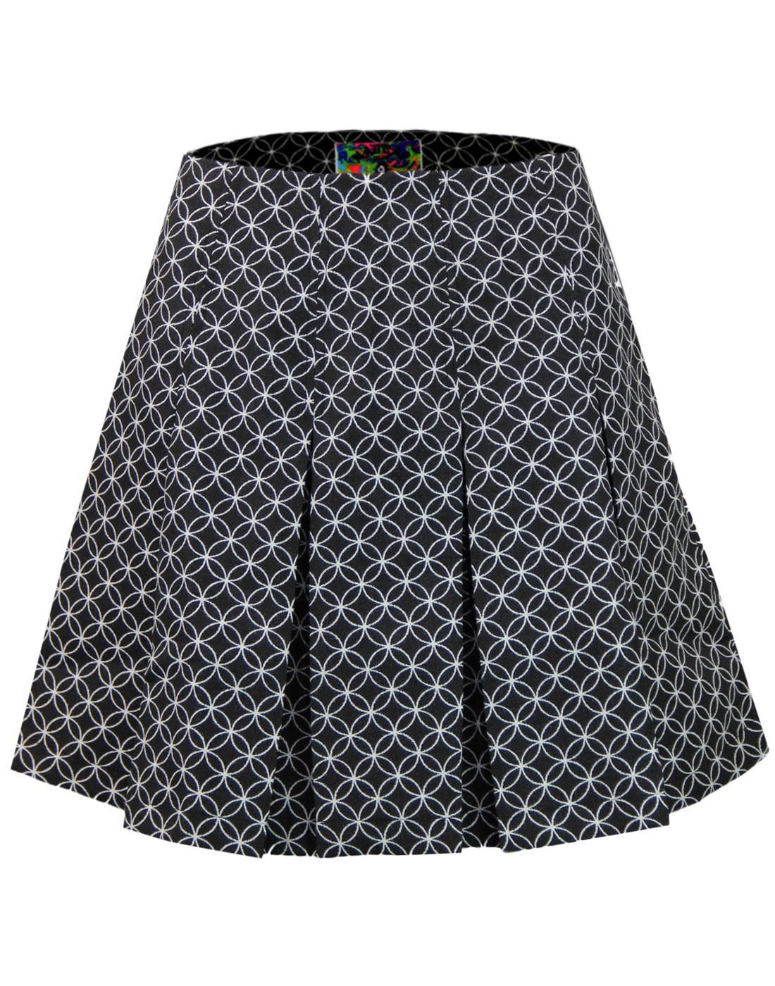 Bijoux MADCAP ENGLAND Mod Geo Pleated Tennis Skirt