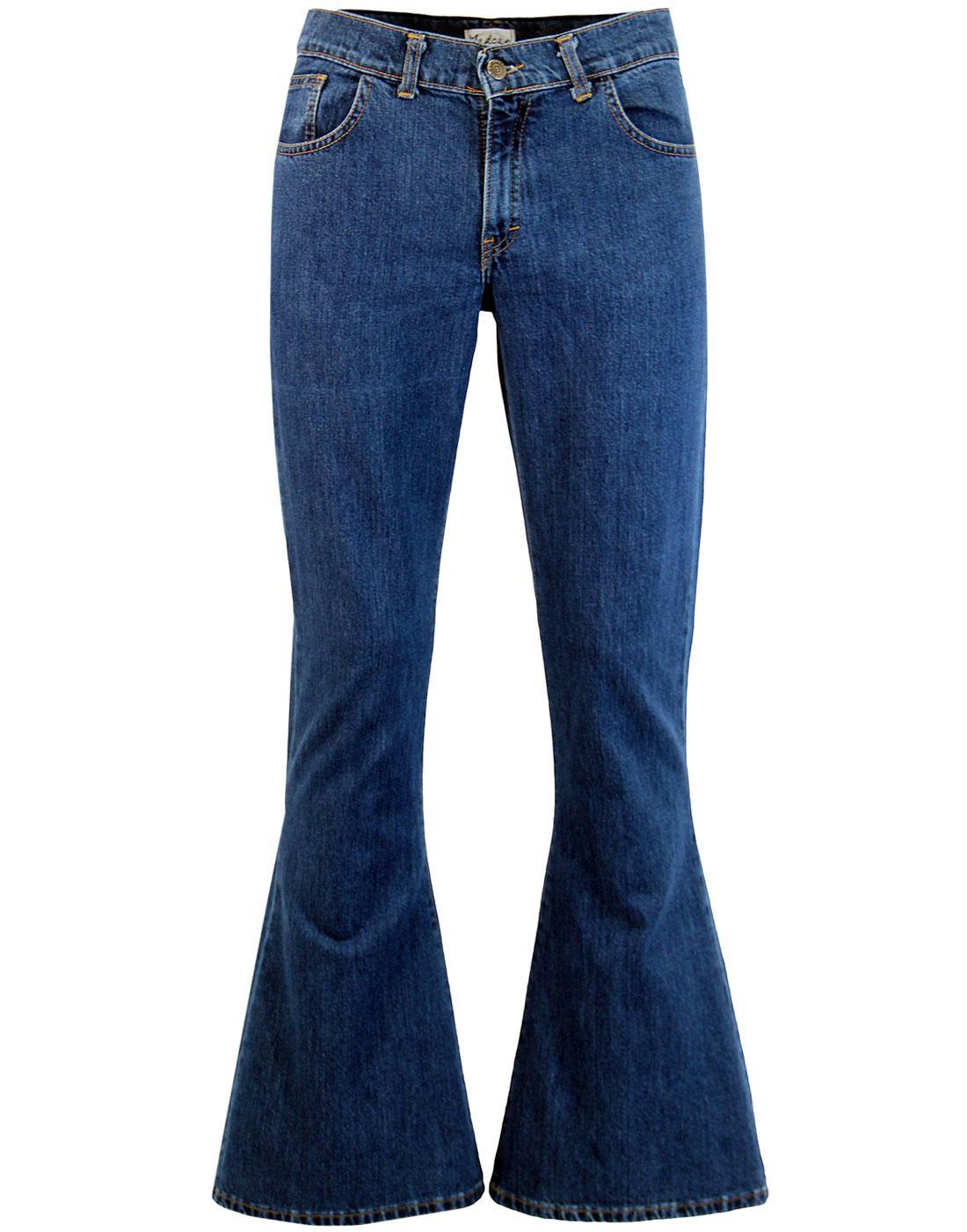 Mens Flares, Bellbottoms, Flared Jeans, Madcap England Flares