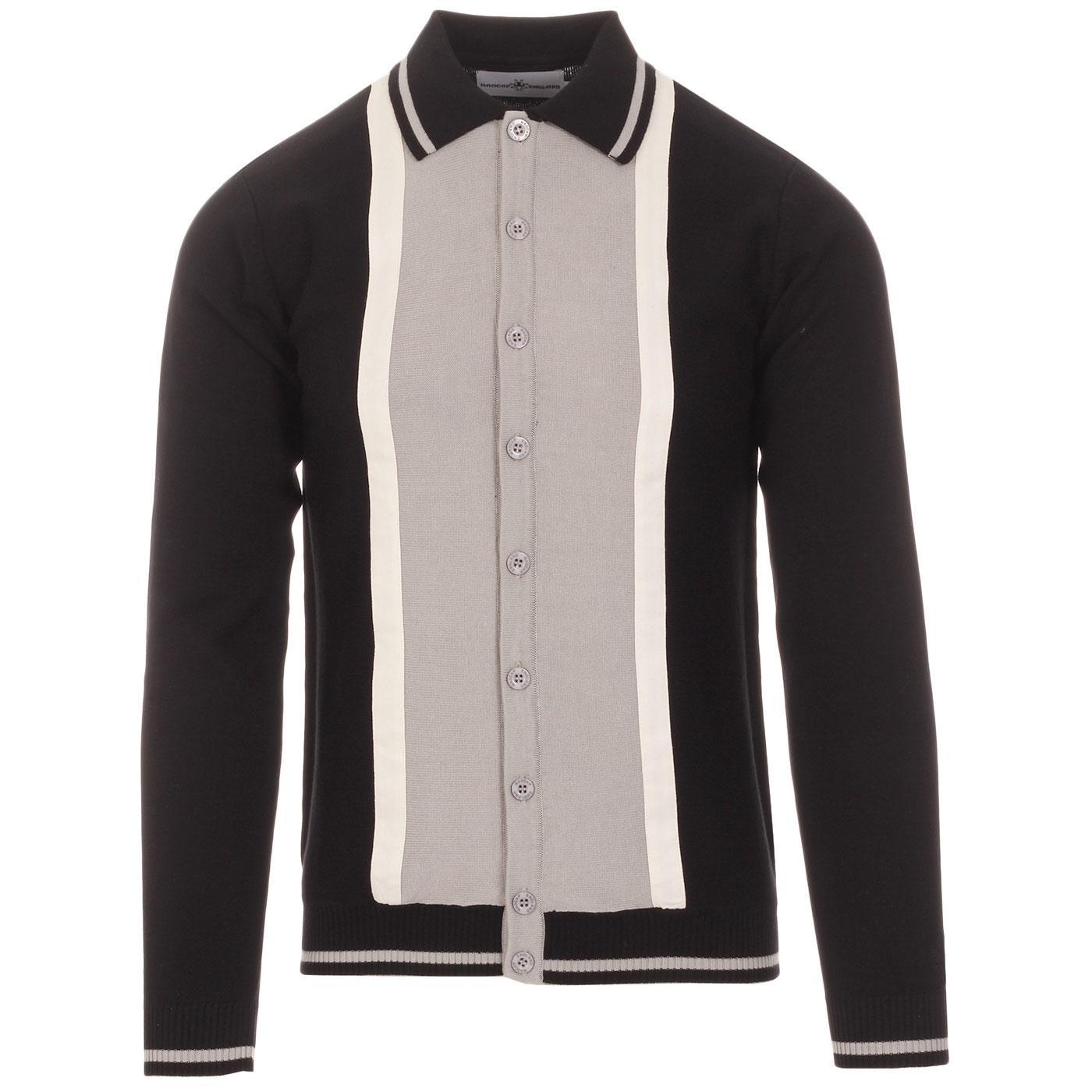 Marriott Suede MADCAP ENGLAND Mod Polo Cardigan B