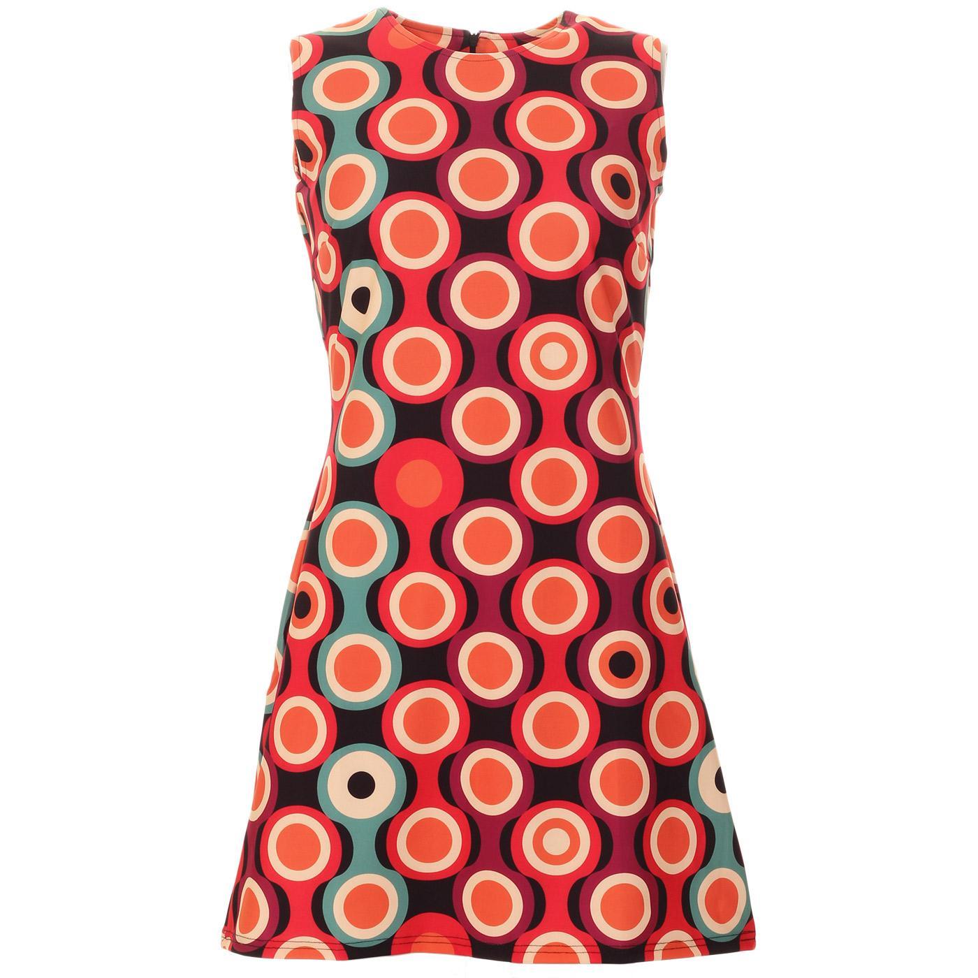 Takka Psych-Out! MADCAP ENGLAND 60s Mod Dress B/B