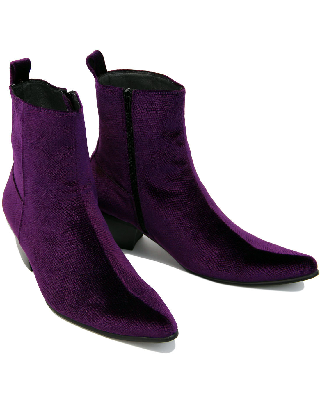 buy \u003e mens purple chelsea boots, Up to