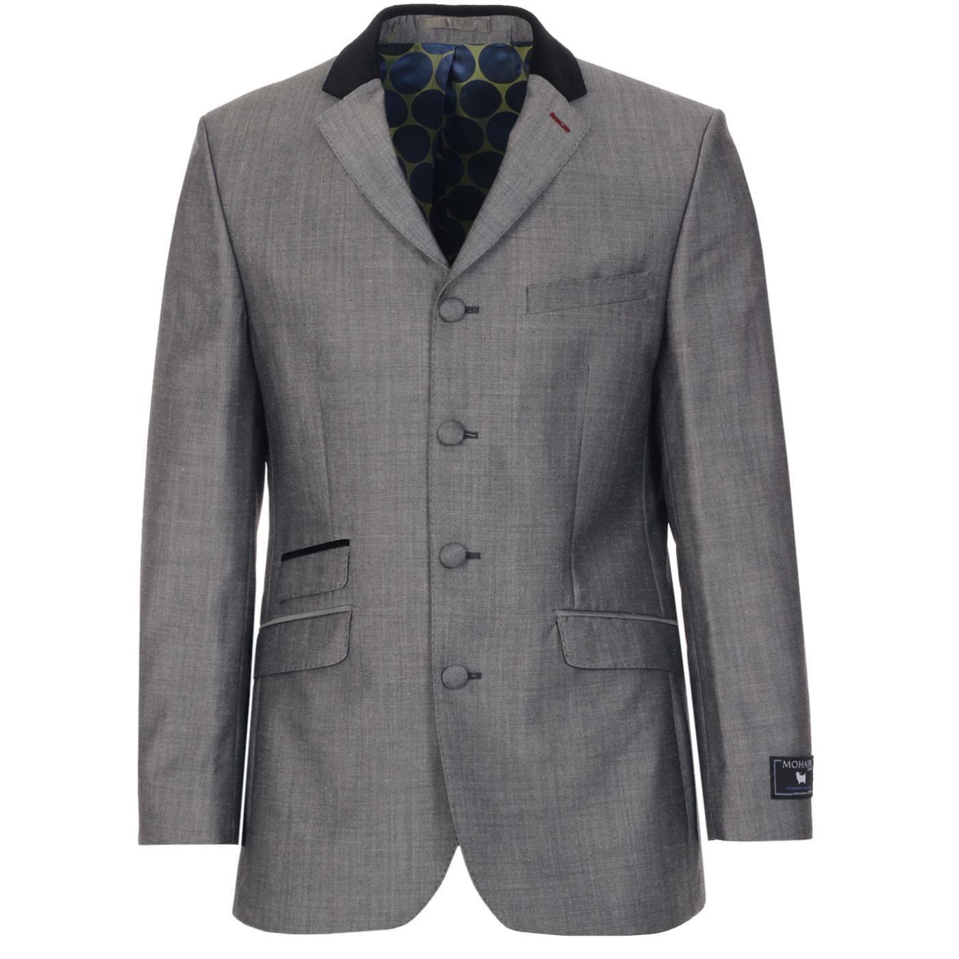 MADCAP ENGLAND 4 Button Tonic Suit Jacket (SG)
