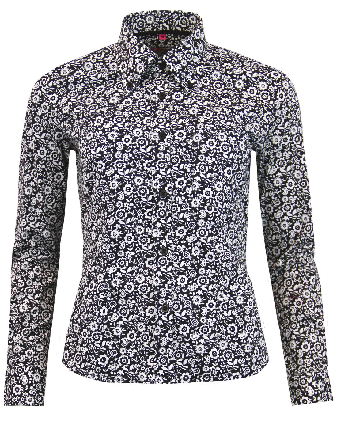 Wanderlust MADCAP ENGLAND Psychedelic Floral Shirt